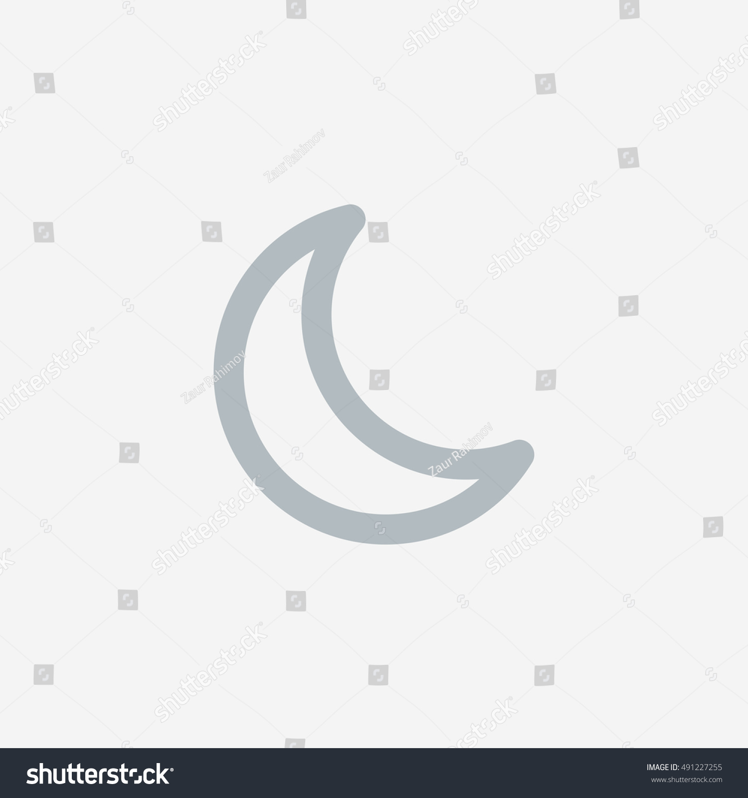 Snapchat moon light icon vector social stock vector 491227255 snapchat moon light icon vector social media sign instagram ui element user interface biocorpaavc Gallery