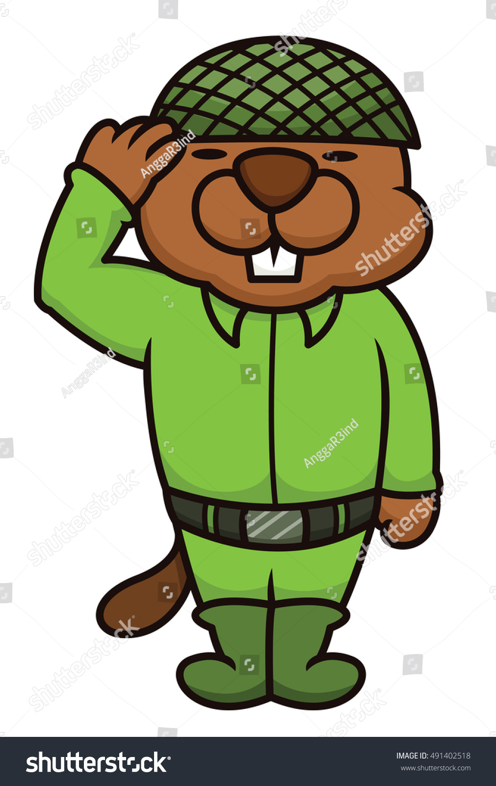 Cartoon Characters Green : Green beaver cartoon character ankaperla