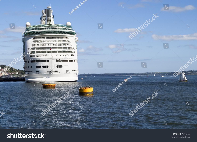 Cruise Ship Harbor Cobh Co Cork Stock Photo Shutterstock - Cruise ship ireland