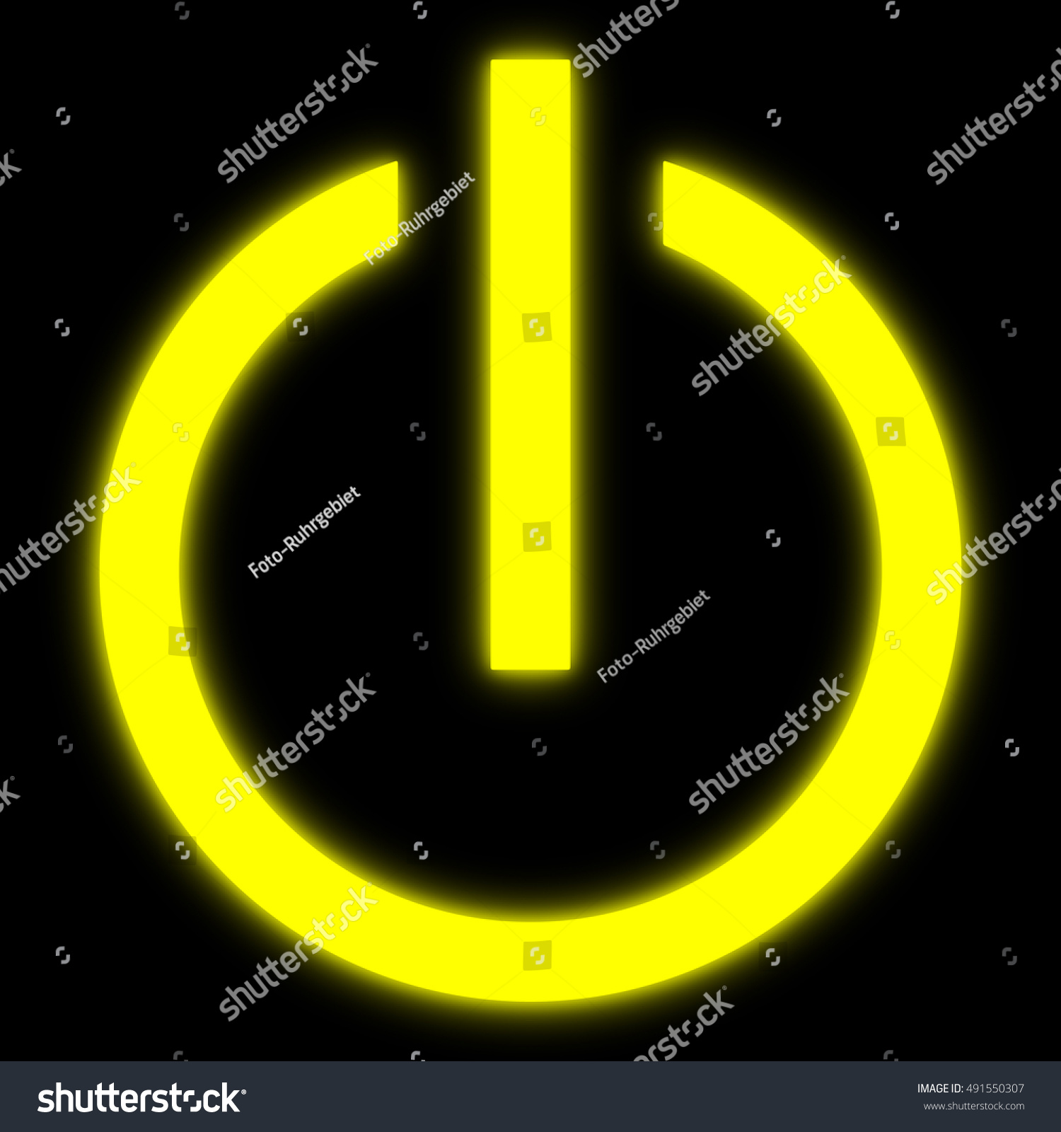 Symbol onoff switch electrical equipment stock illustration symbol of an on off switch of electrical equipment buycottarizona Choice Image
