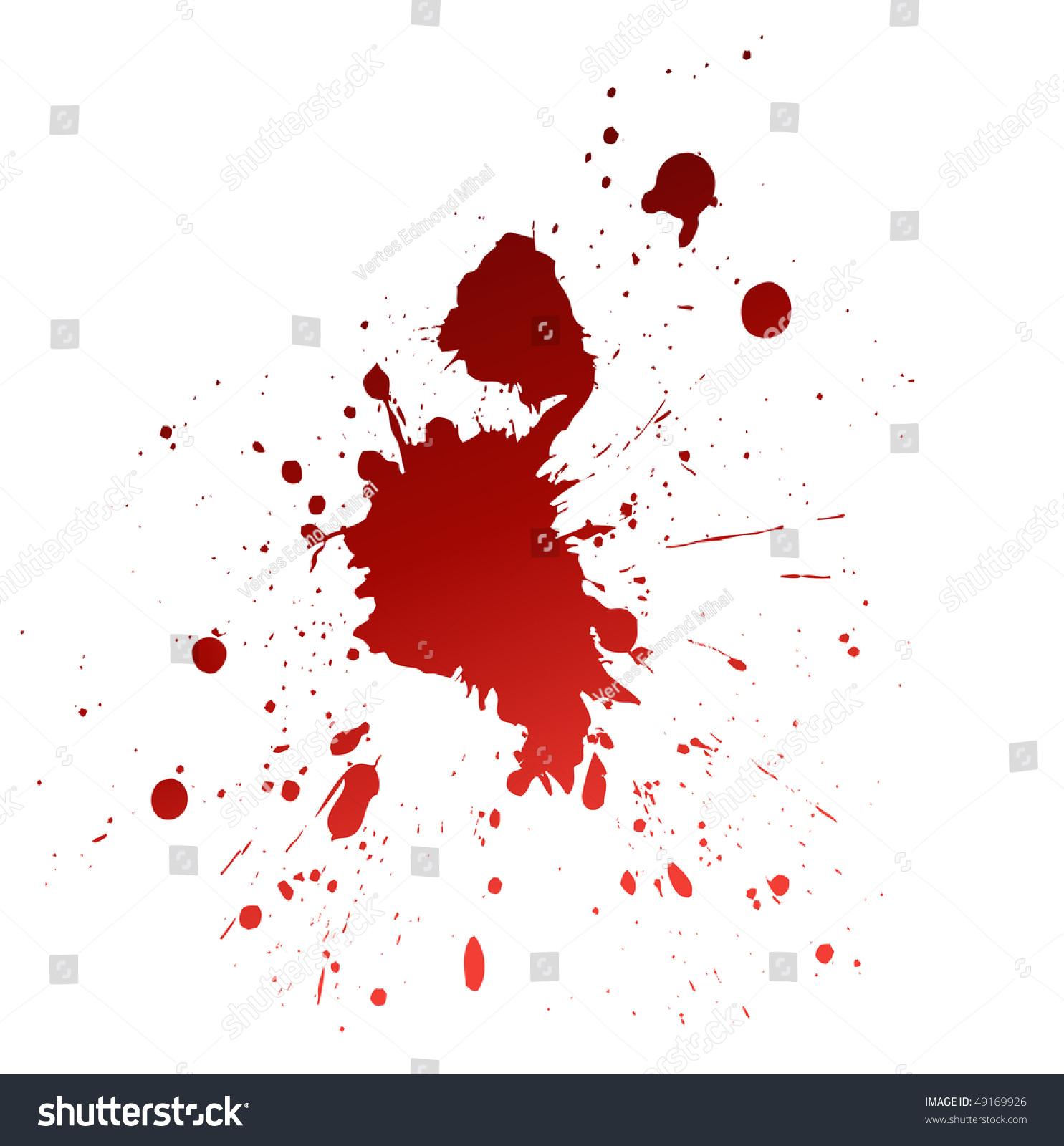 Blood splat Stock Photo 49169926 - Avopix com