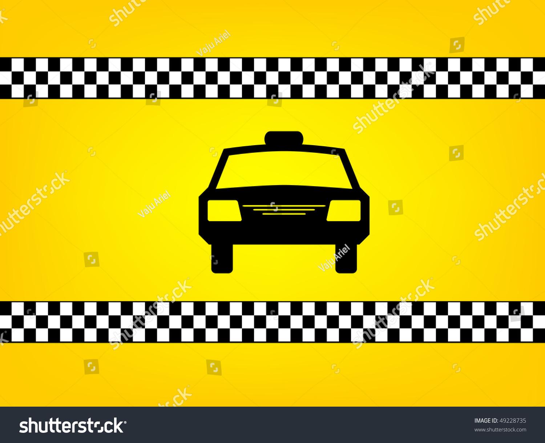 Как сделать шашку такси