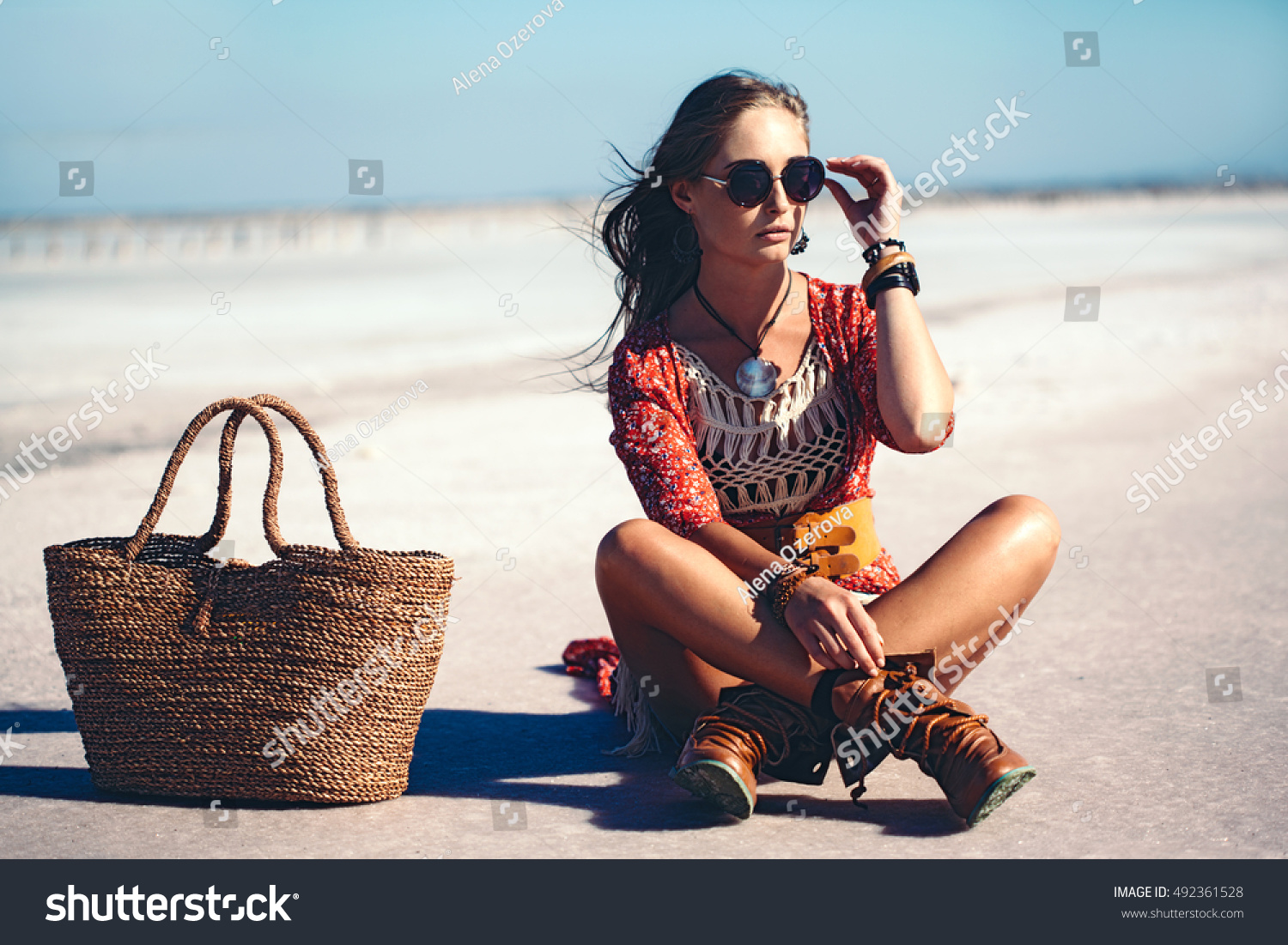 Buy Chic Bohemian sunglasses for summer pictures trends