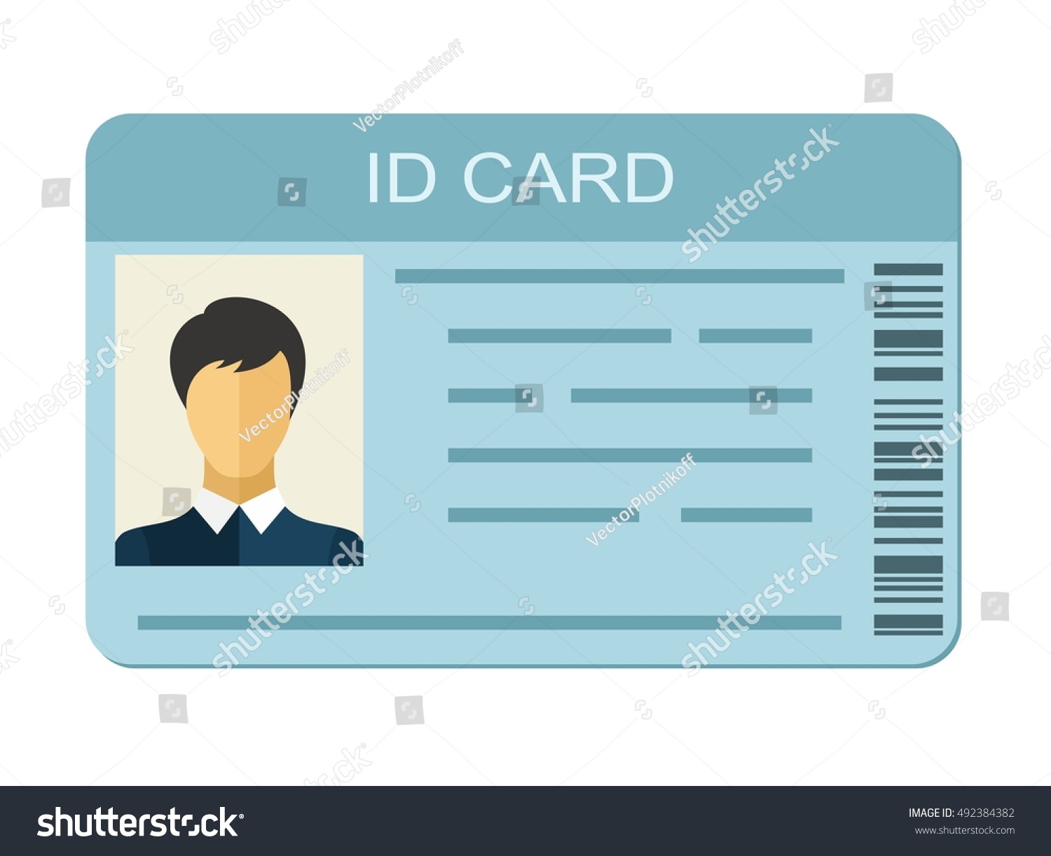 identification template