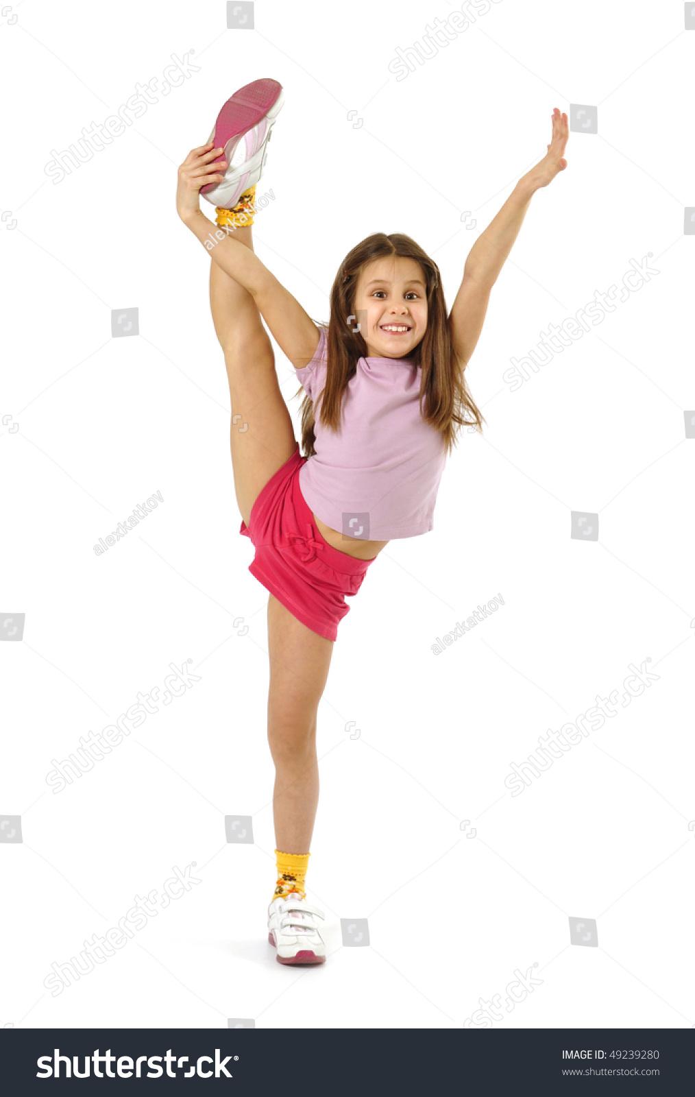 sexy girls doing the splits