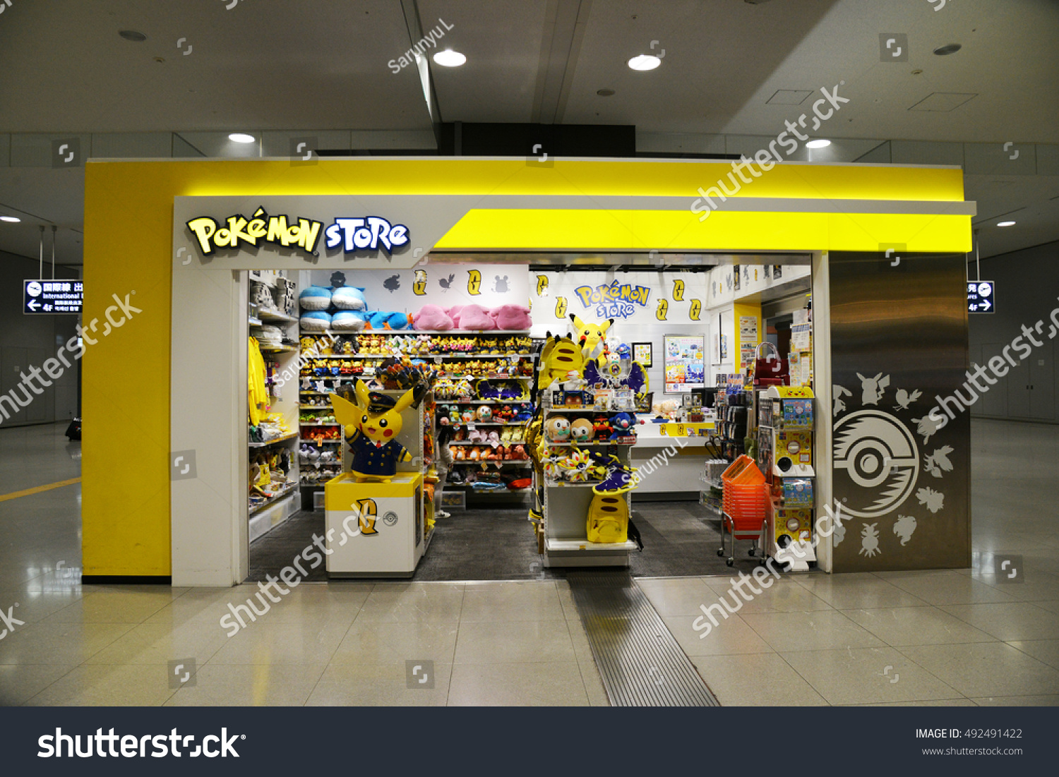 Osaka Japan October 1st 2016 Pokemon Stock Photo 492491422