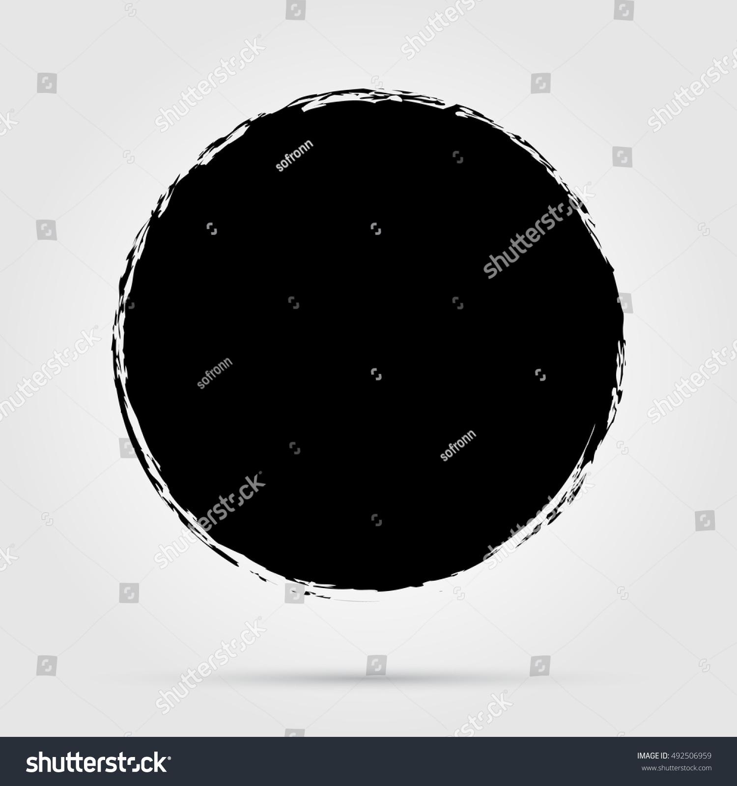 of vector grunge circle - photo #47