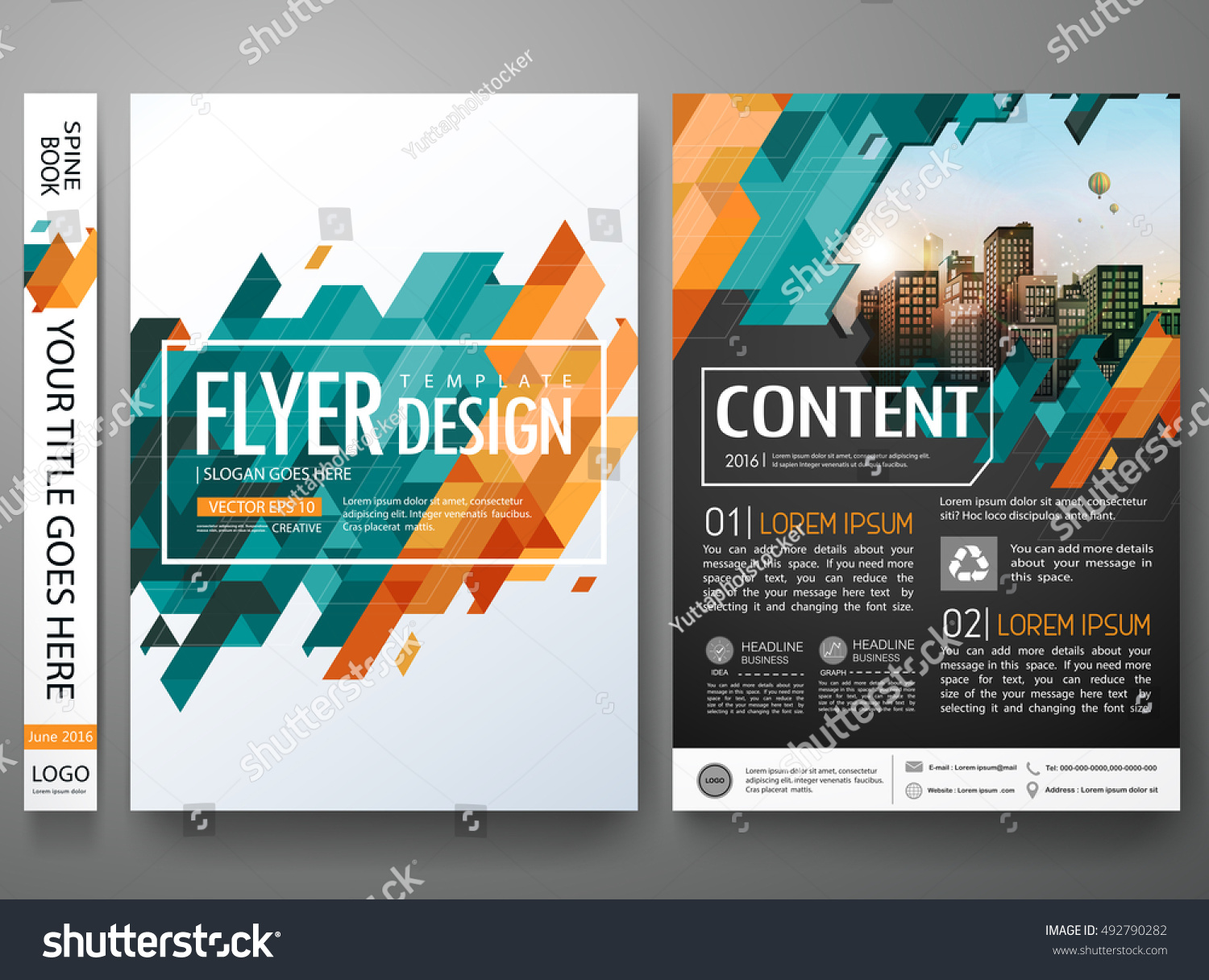 flyers design template vector brochure report stock vector flyers design template vector brochure report business magazine poster abstract green cover book portfolio