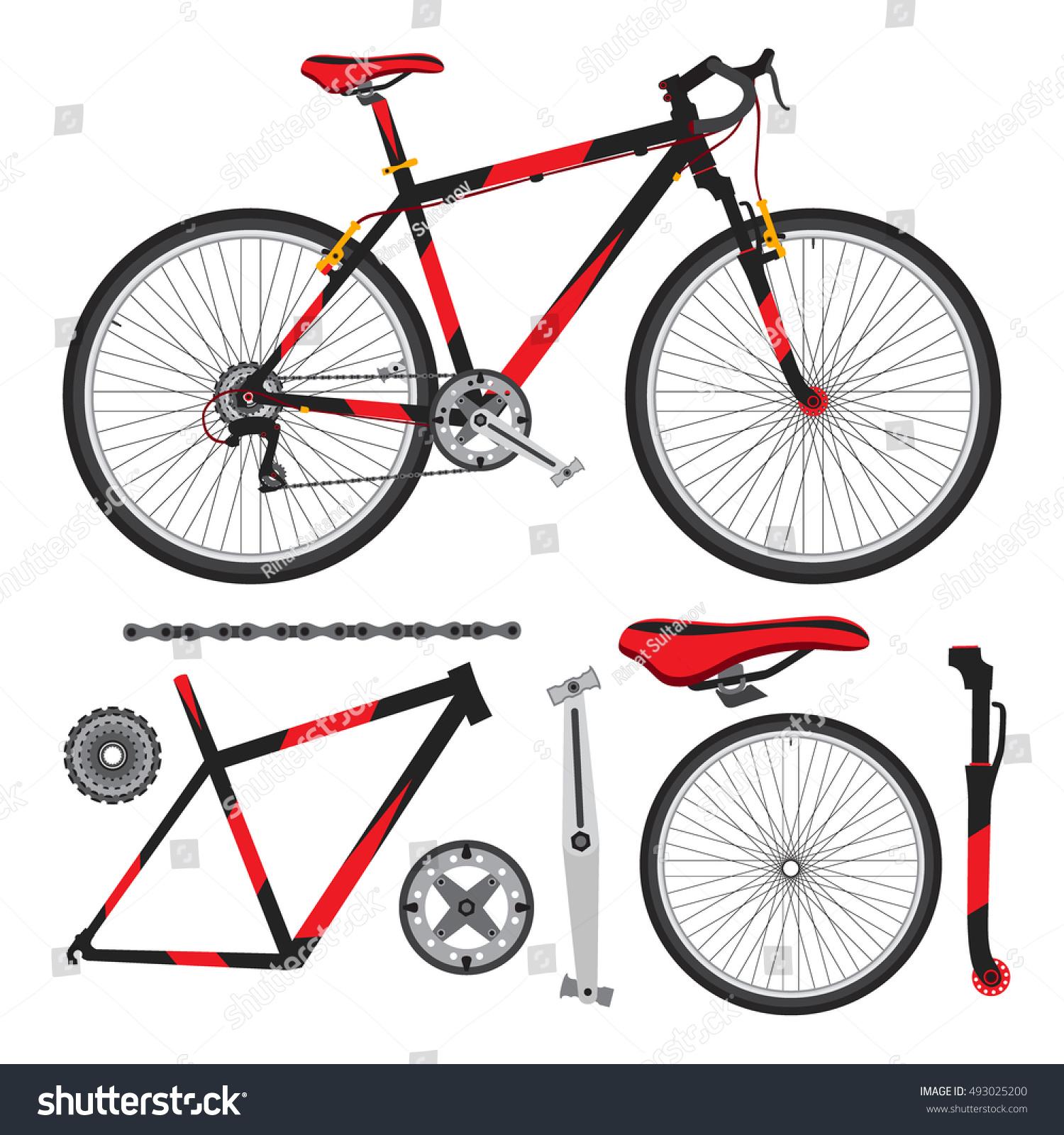 Bicycle Bike Parts Acc...
