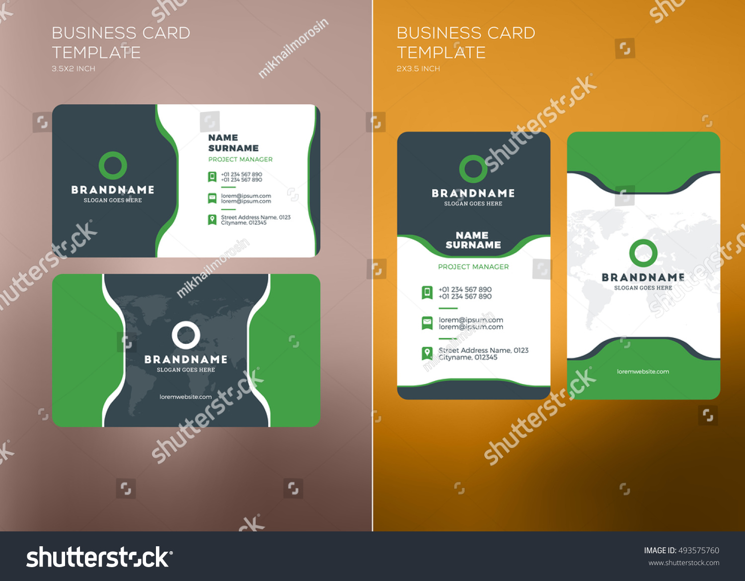 Free Template Business Cards To Print