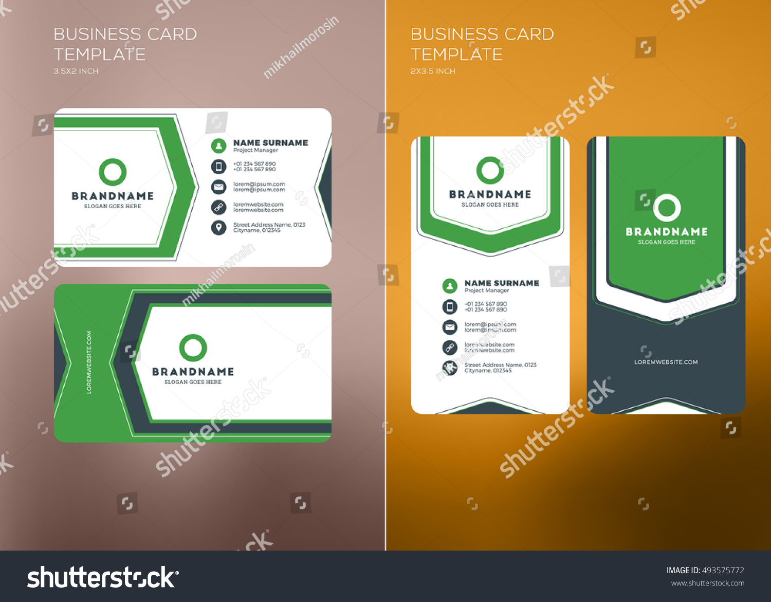 3d Business Cards Templates