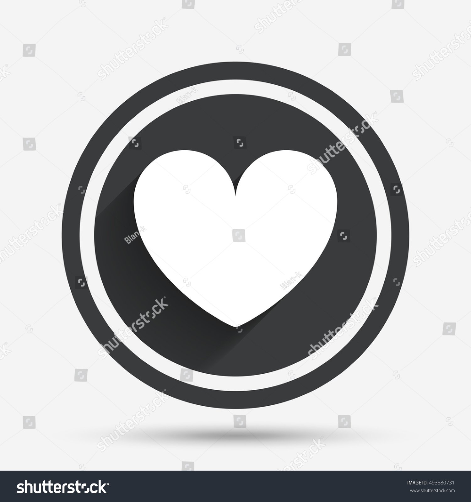 Heart sign icon love symbol circle stock vector 493580731 heart sign icon love symbol circle stock vector 493580731 shutterstock buycottarizona