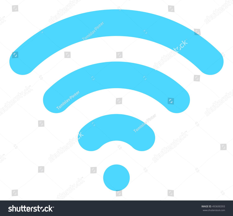 Wifi Symbol Stock Illustration 493690393 Shutterstock