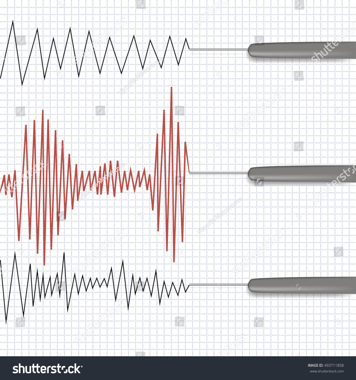Lie Detector Test Stock Illustration 493711858 Shutterstock Circuit