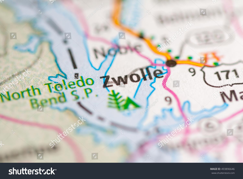 Zwolle Louisiana USA Stockfoto (Jetzt bearbeiten) 493896646 ...