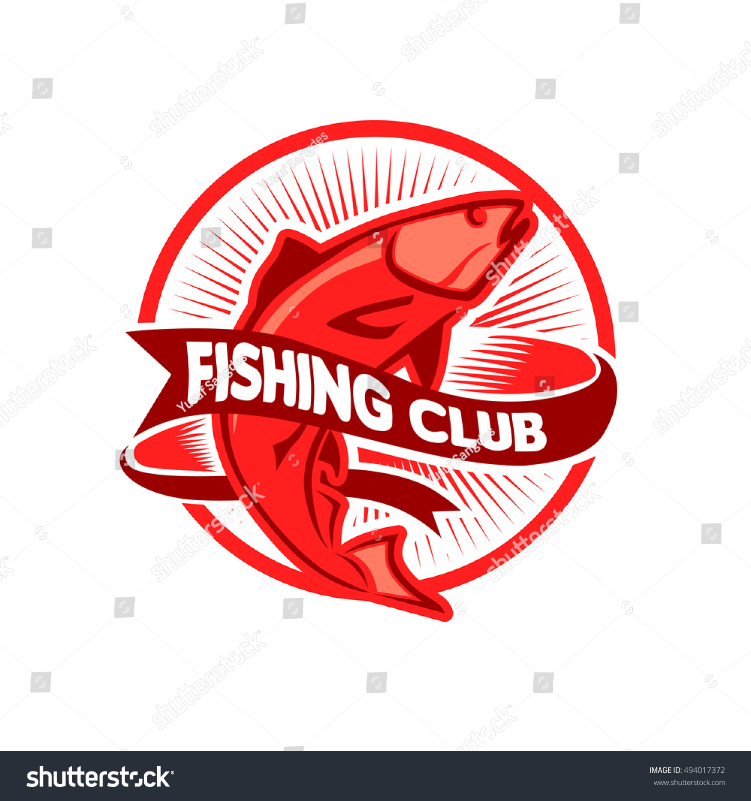 Fish Logo Template You Can Use Stock Vector (2018) 494017372 ...