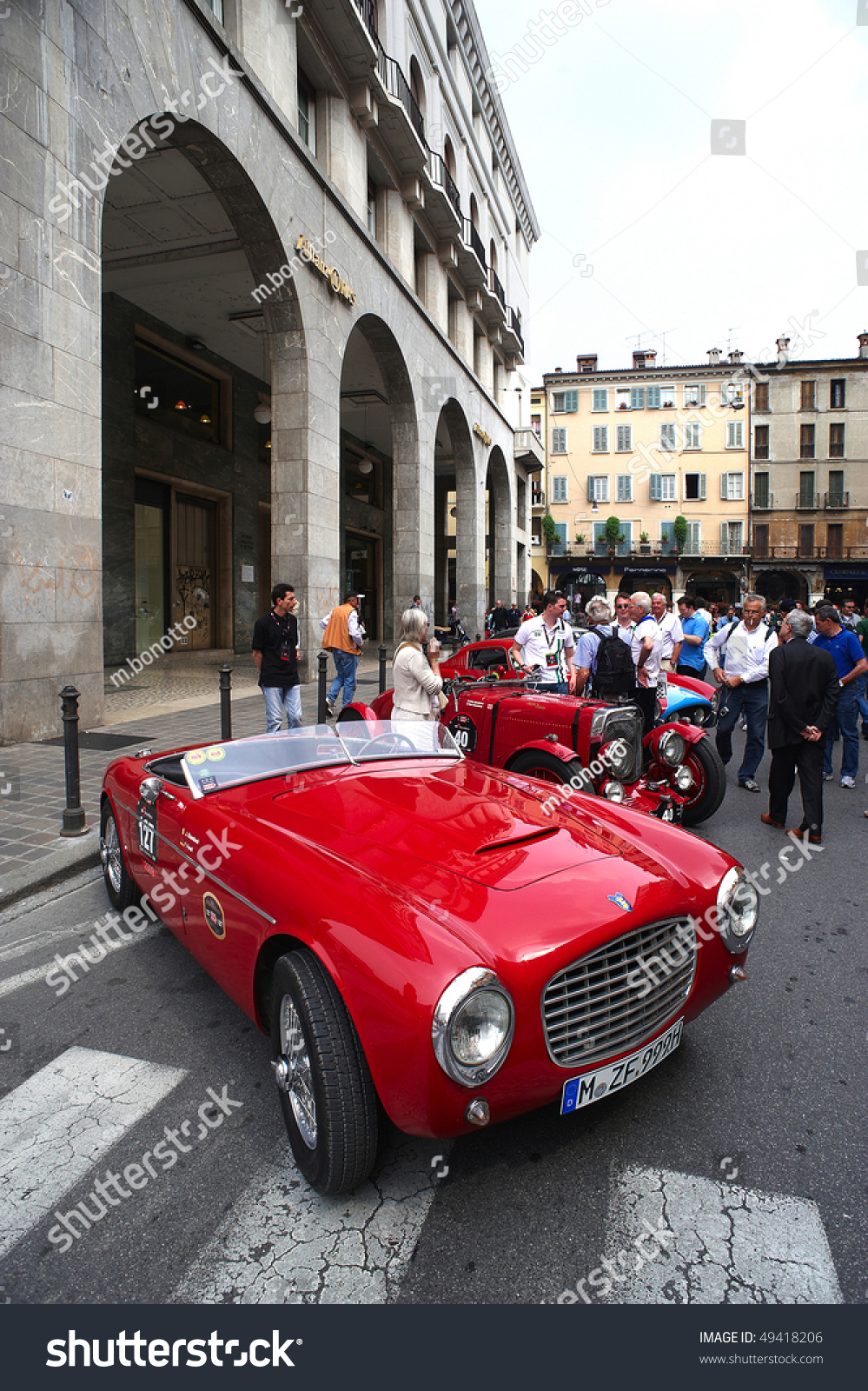 Brescia Italy Apr Classic Car Stock Photo Shutterstock - Famous classic cars