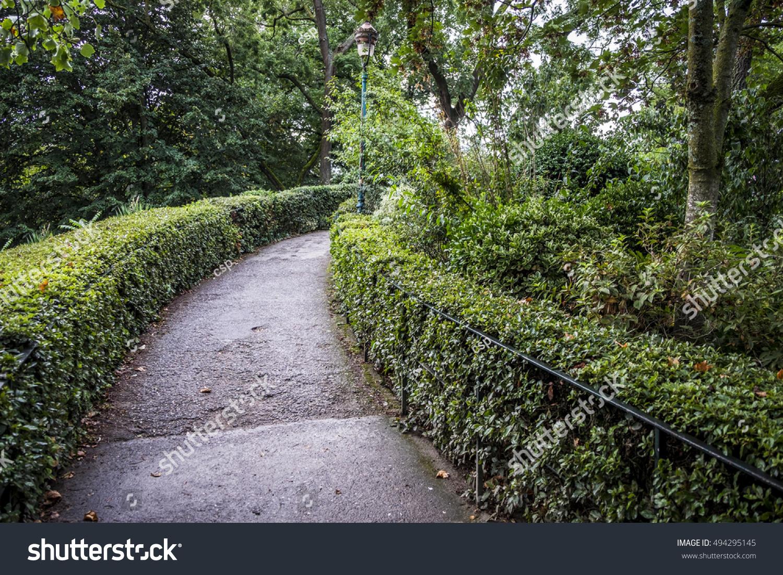 Jardin Des Plantes Garden Public Park Stock Photo (Edit Now ...