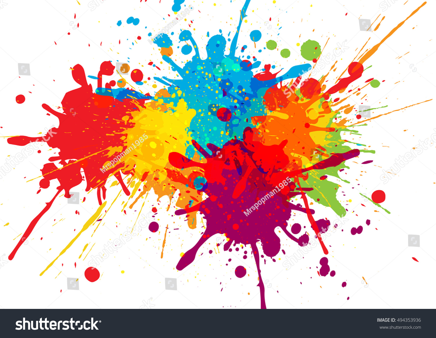 Vector colorful background design illustration vector design