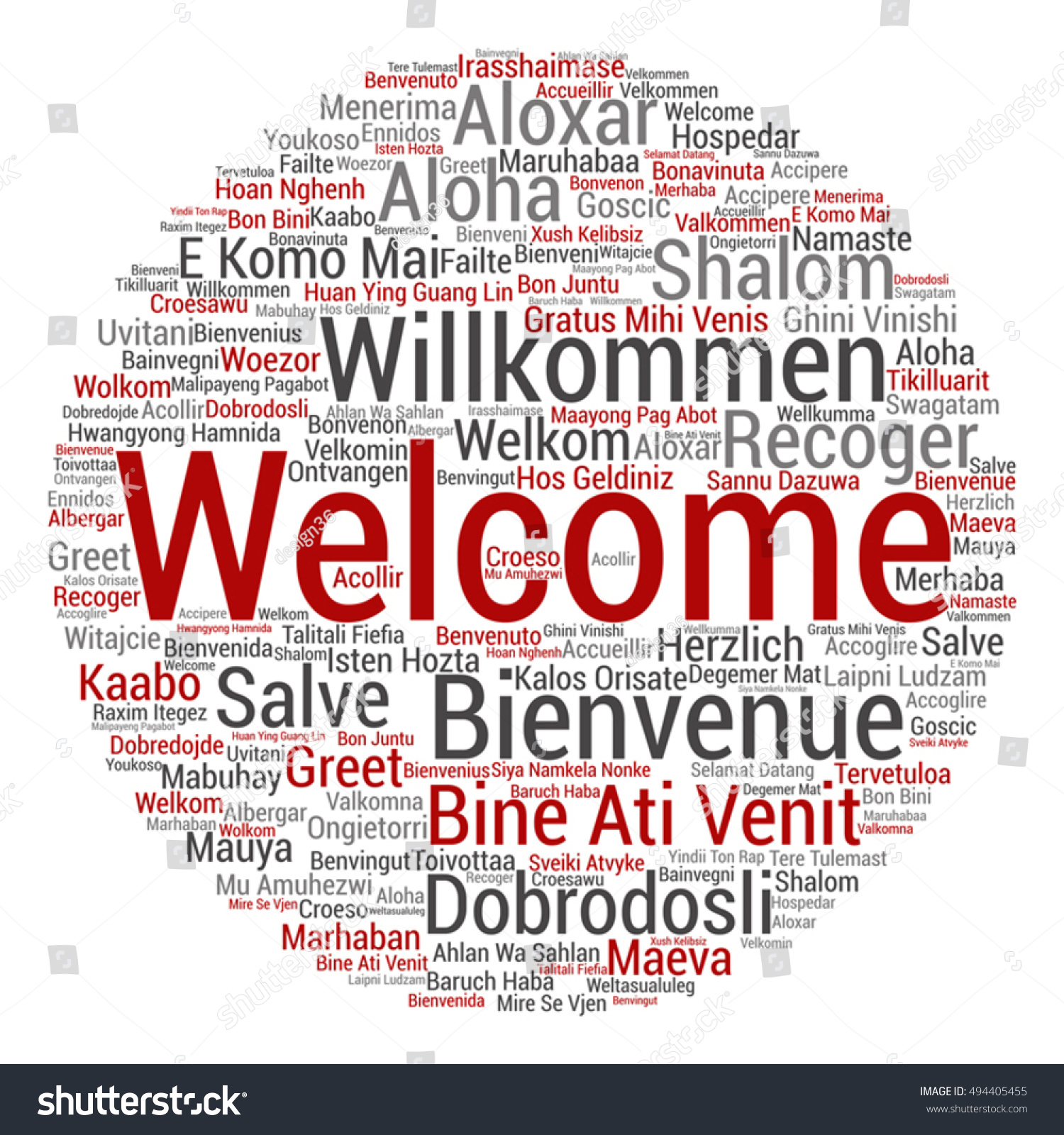 Greeting words in dutch language greeting season birthday cards for vector concept abstract round welcome greeting stock vector stock vector vector concept abstract round welcome or greeting international word cloud in m4hsunfo