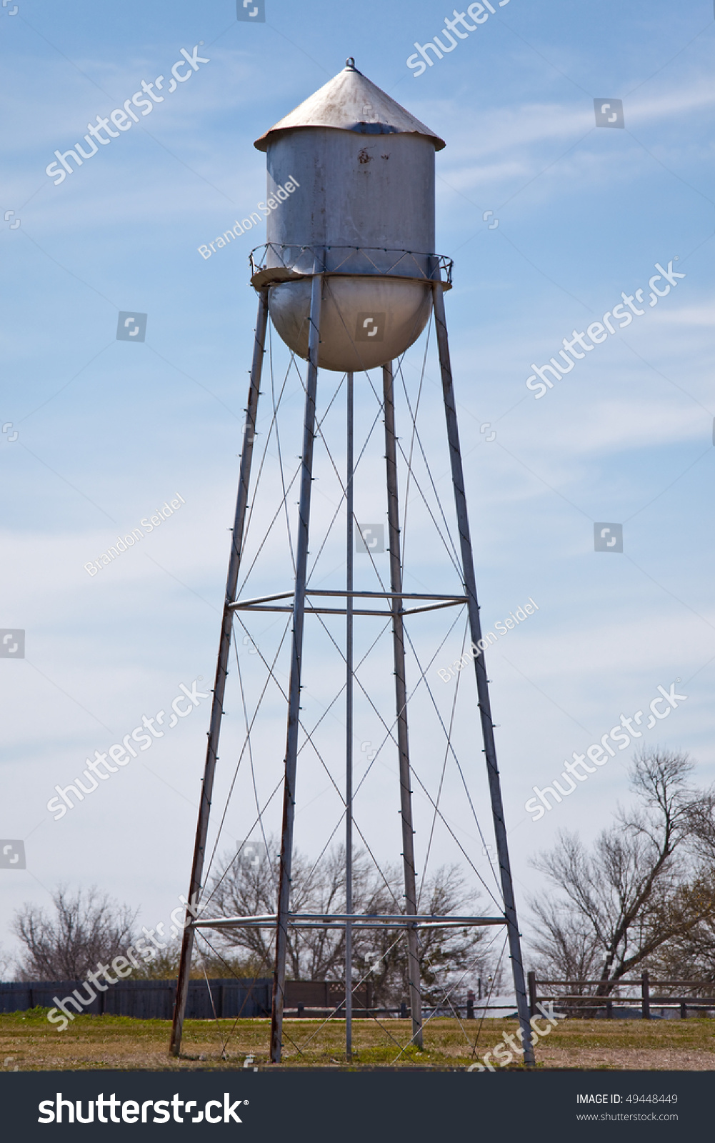 An old water tower on a farm stock photo 49448449 for Farmhouse tower
