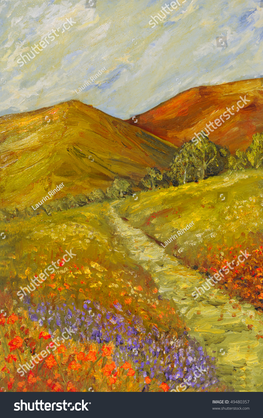 Aliexpress.com : Buy Nice autumn landscape handpainted oil ...