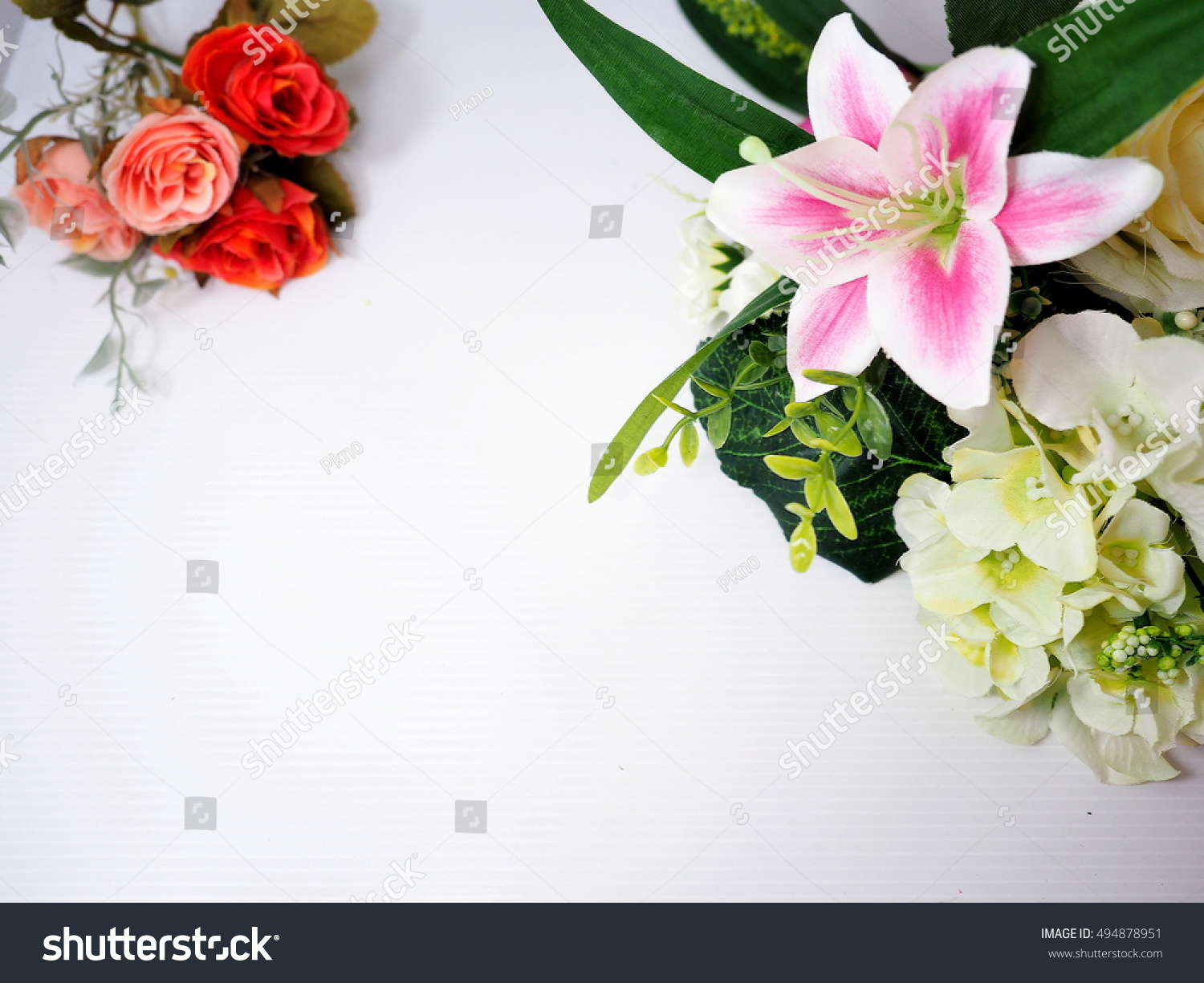 Most beautiful flower frame stock photo royalty free 494878951 most beautiful flower frame izmirmasajfo