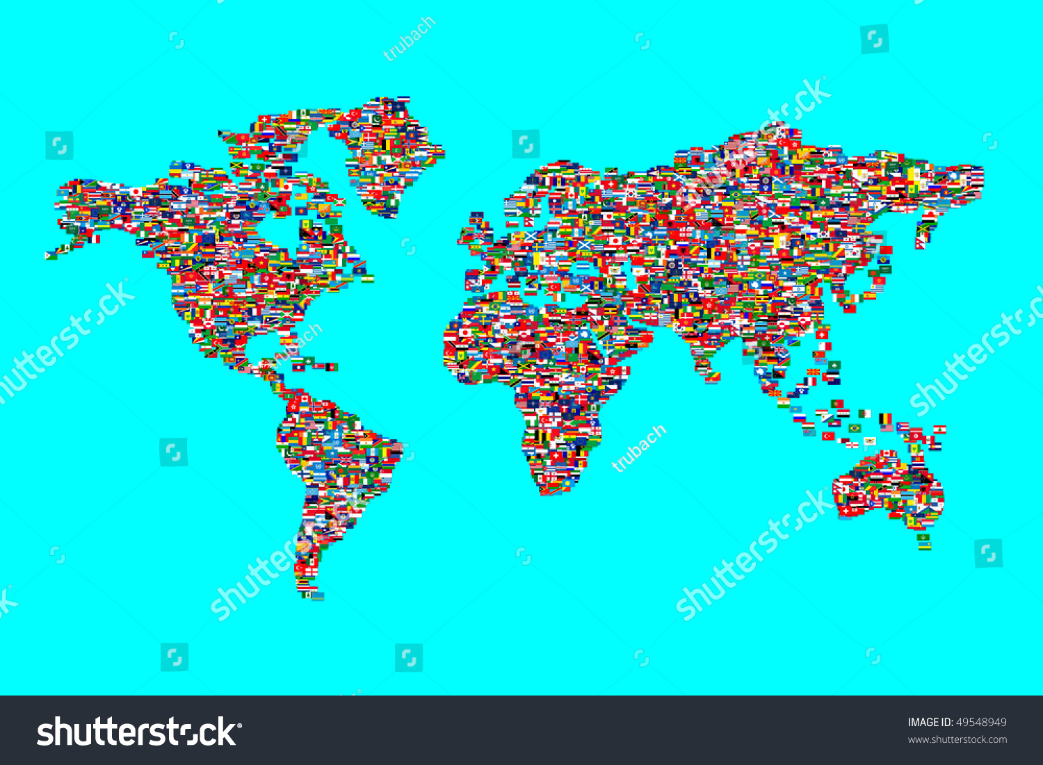 Illustration world map made world flags stock illustration illustration of world map made from world flags gumiabroncs Images