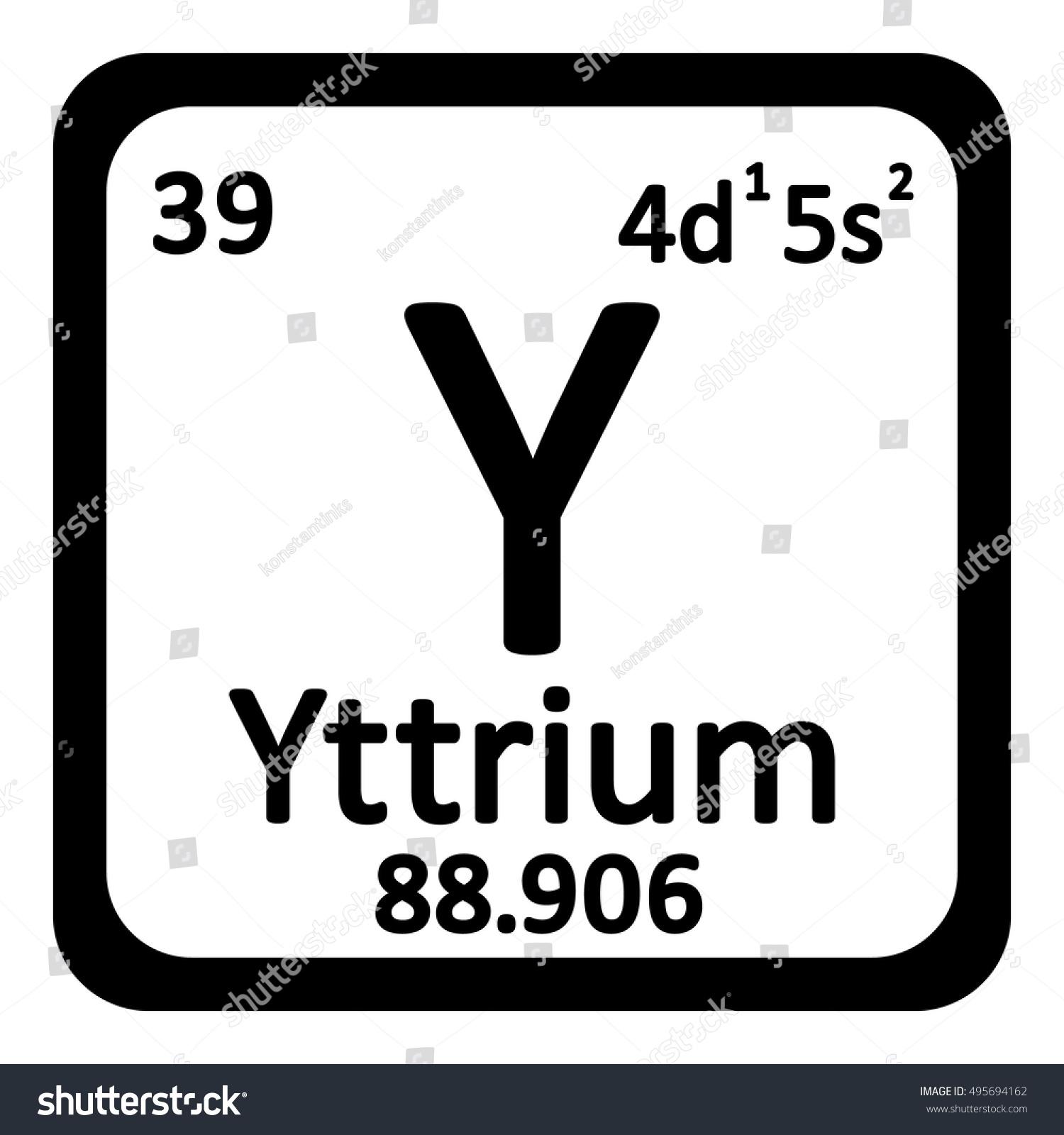 Periodic table element yttrium icon quadrant diagram periodic table element yttrium icon on stock vector 495694162 stock vector periodic table element yttrium icon gamestrikefo Gallery