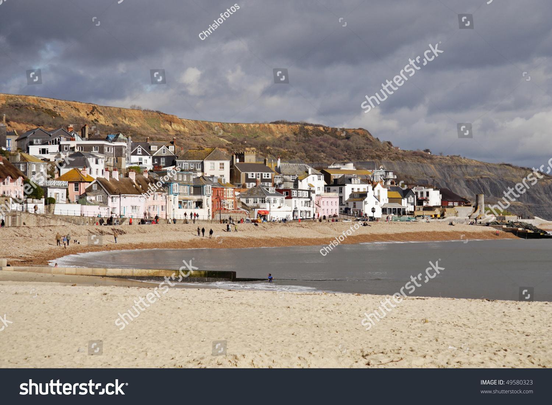 Lyme Regis Landmarks and Monuments: Lyme Regis, Dorset, England