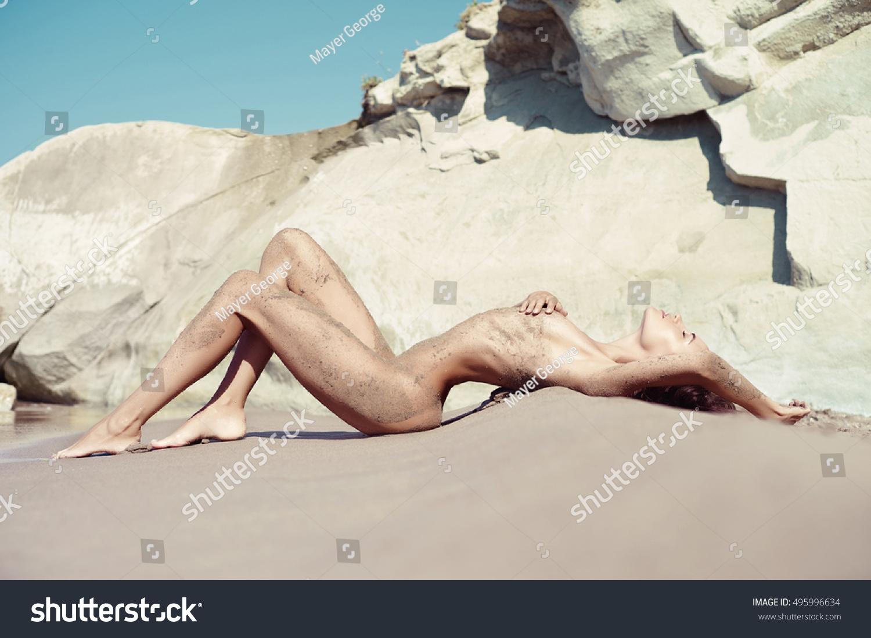 Nude aasialainen tyttö pitkät hiukset-9456