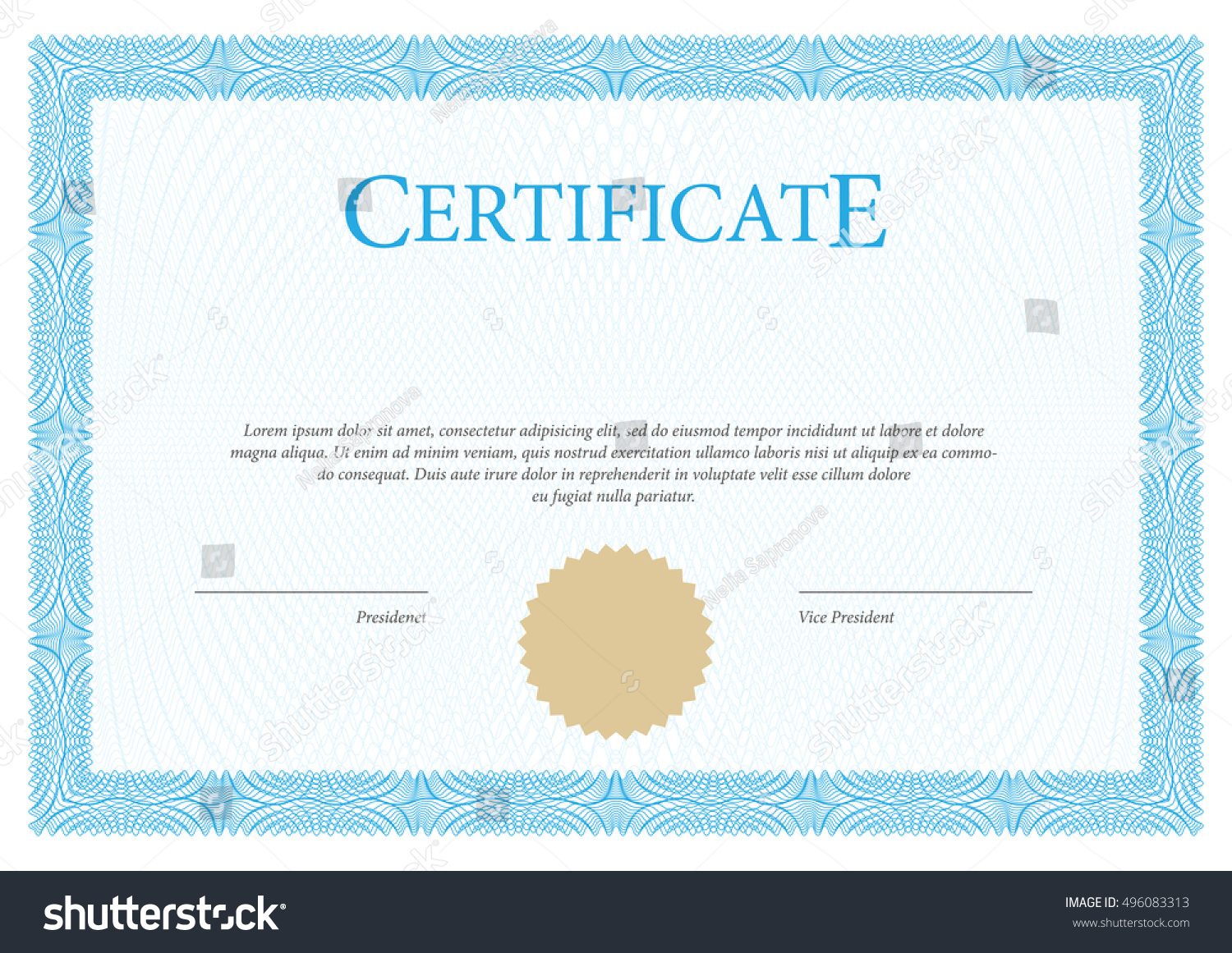 Certificate vector template diplomas currency award stock vector certificate vector template diplomas currency award background gift voucher 1betcityfo Gallery