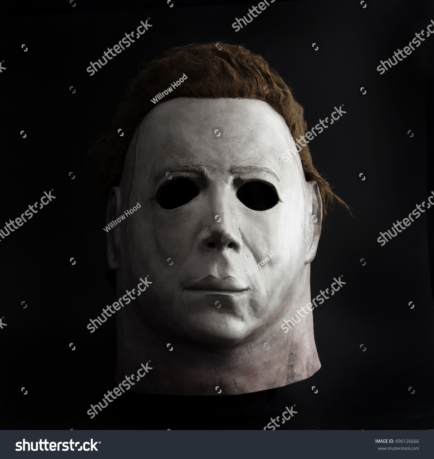 Studio Portrait Michael Myers Mask John Stock Photo 496126666 ...
