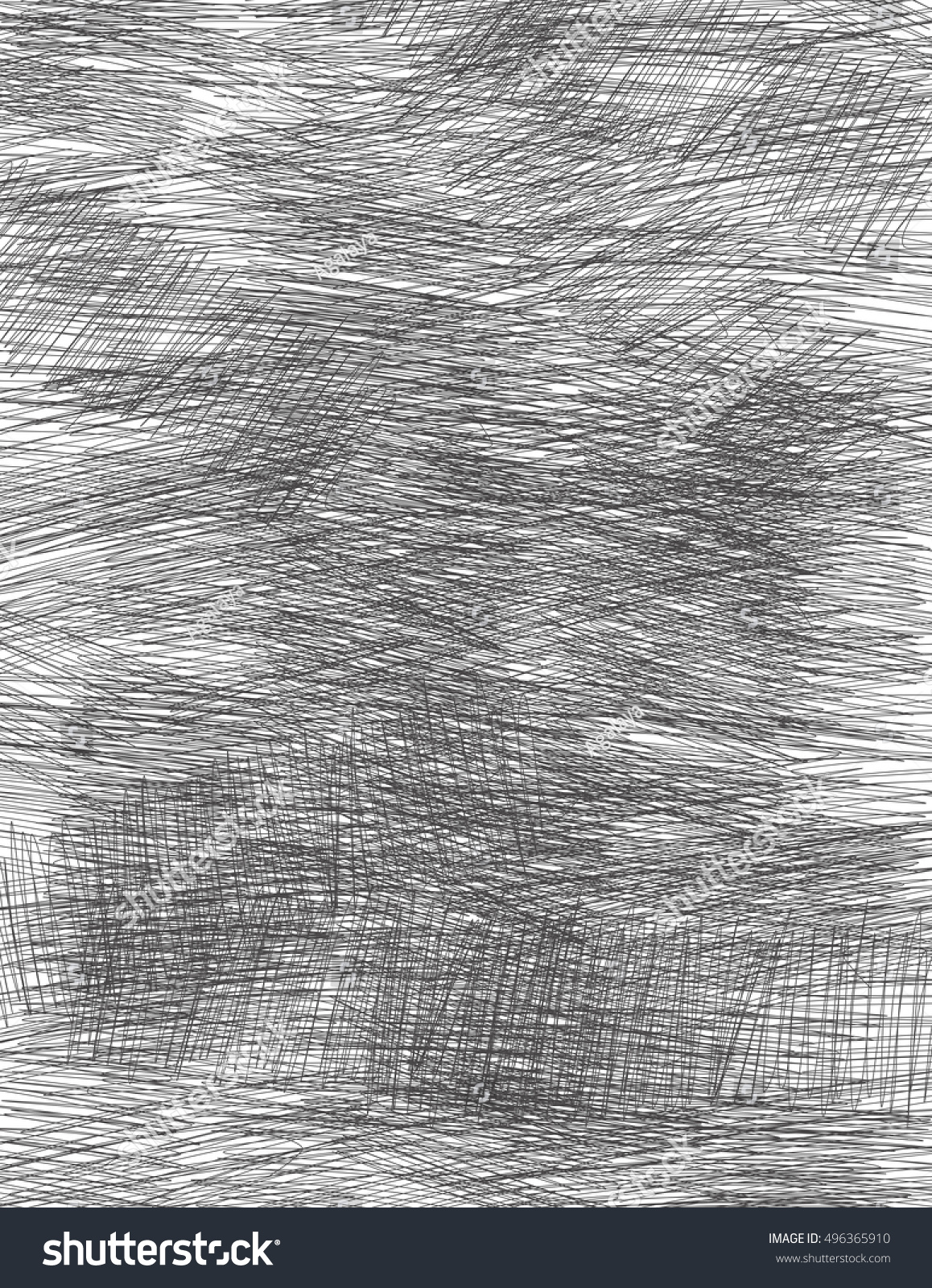 The shaded gray background. White shading on a dark background. Drawing by  hand.