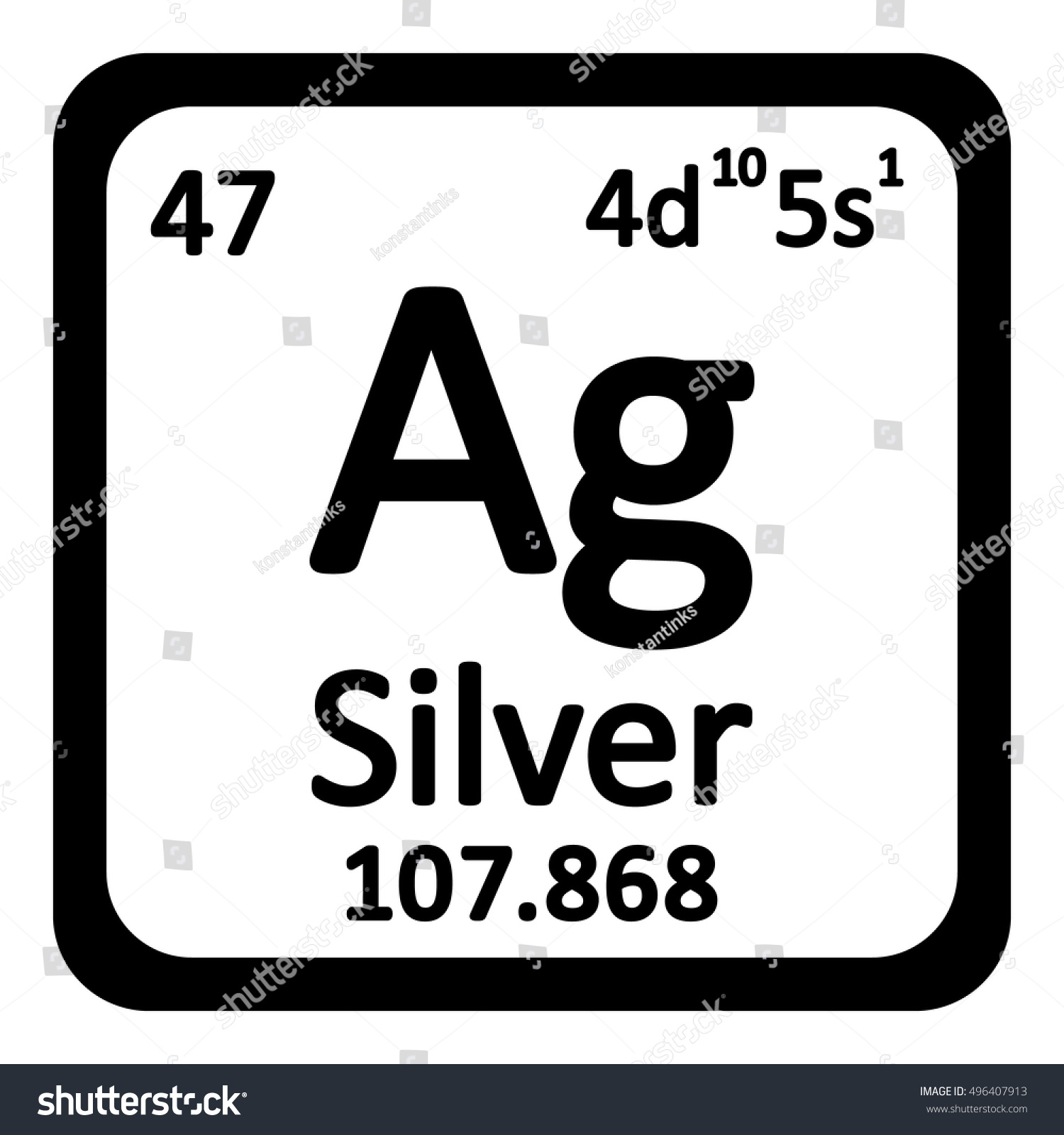What is the periodic table symbol for silver gallery periodic what number is silver on the periodic table choice image silver on the periodic table images gamestrikefo Image collections
