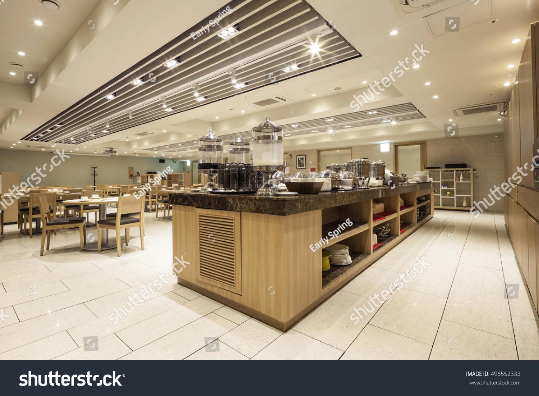 New Luxury Boutique Hotel Restaurant Buffet Stock Photo Edit Now 496552333