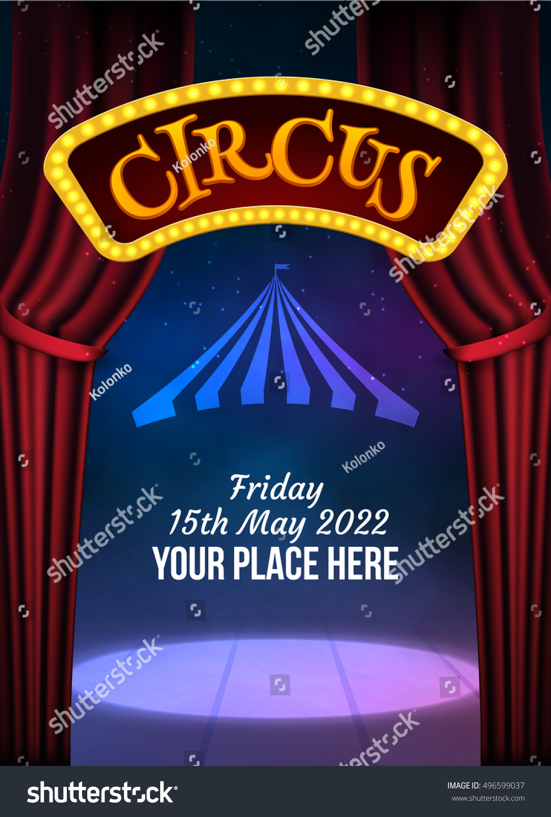 carnival poster template