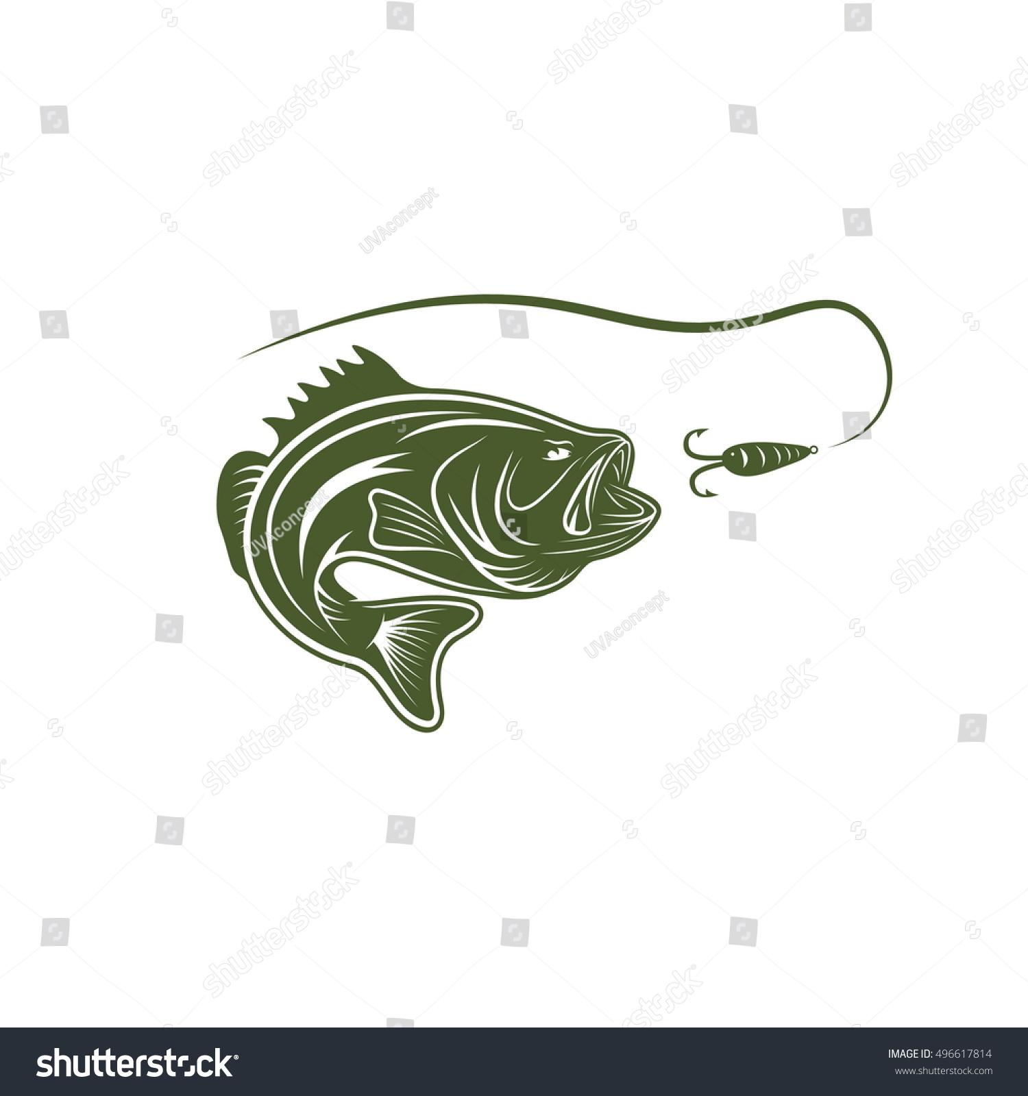 largemouth bass template - photo #16