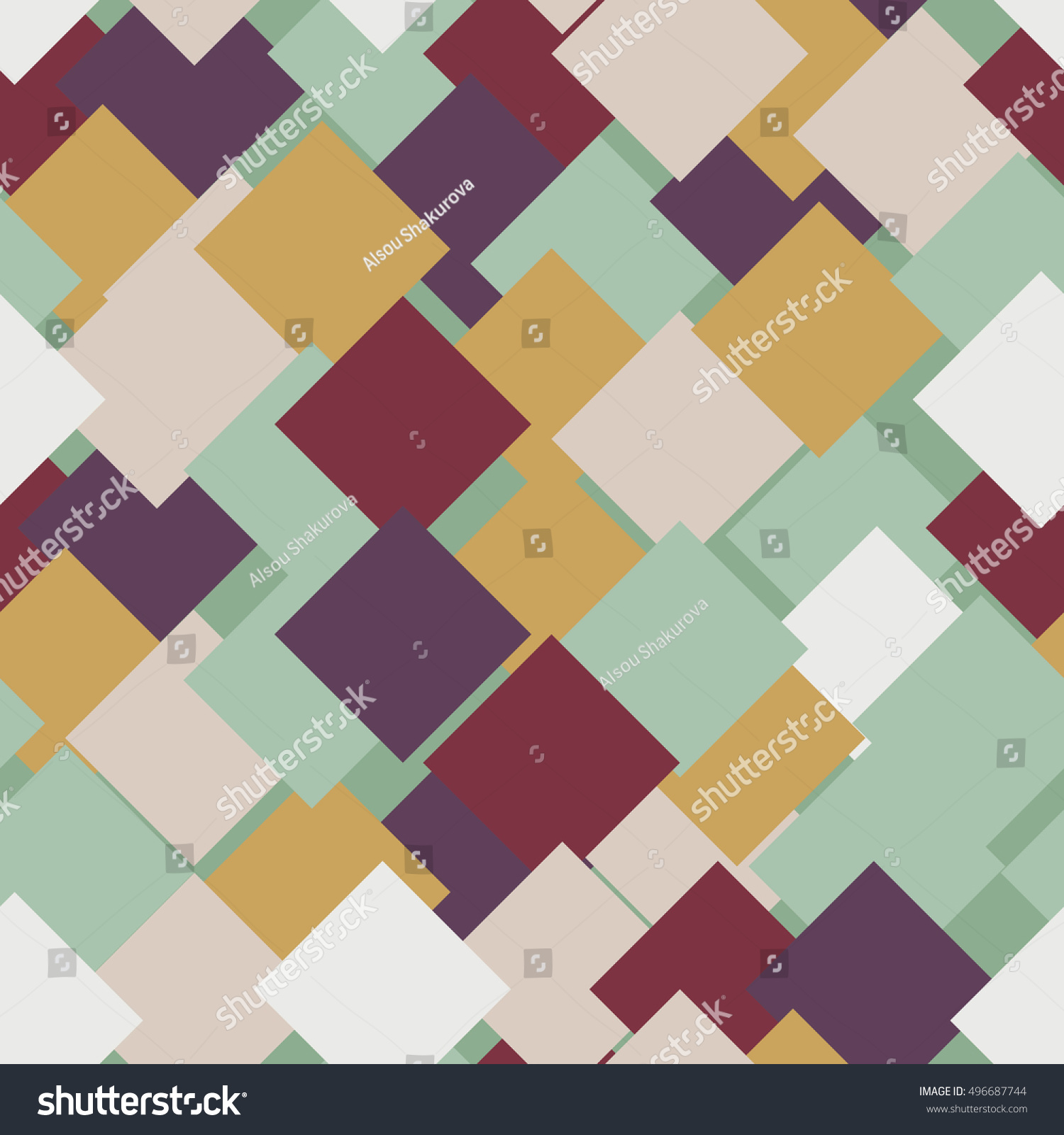 Abstract Background Print Textiles Color Trend Stock Vector 496687744