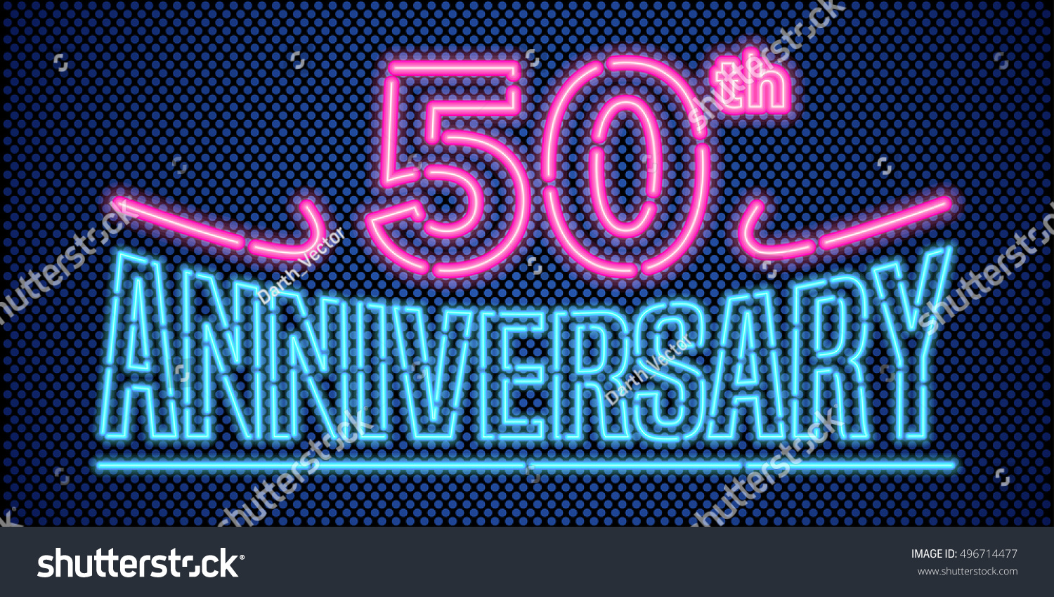 50 years anniversary vector illustration banner stock vector 50 years anniversary vector illustration banner flyer logo icon symbol buycottarizona Choice Image
