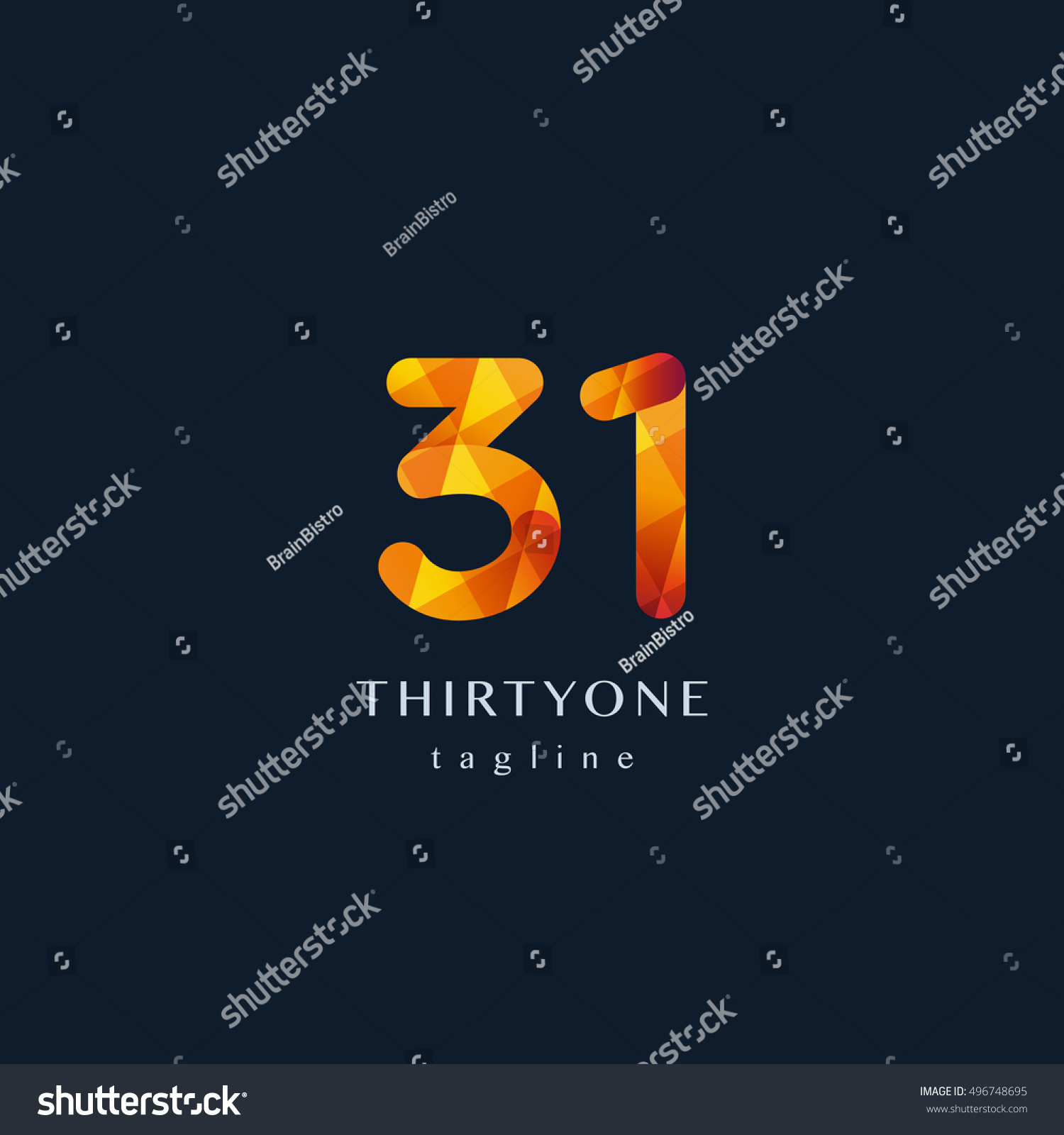 Number 33 free picture of the number thirty three - Number Thirty One 31 Logo 31 Icon Filled With Geometric Pattern Vector Element
