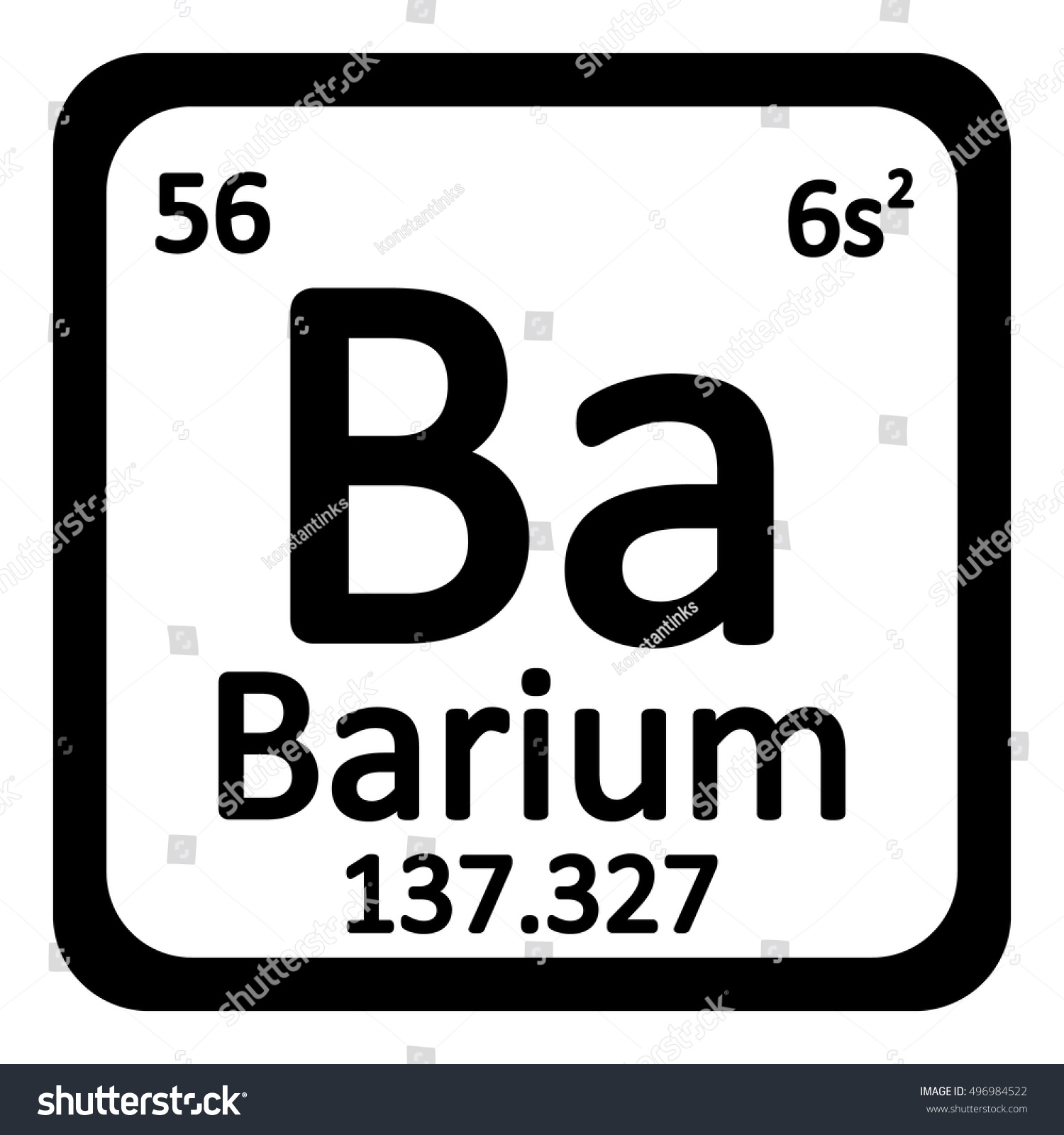 What is the symbol for barium on the periodic table choice image what is the symbol for barium on the periodic table images where is barium on the gamestrikefo Image collections
