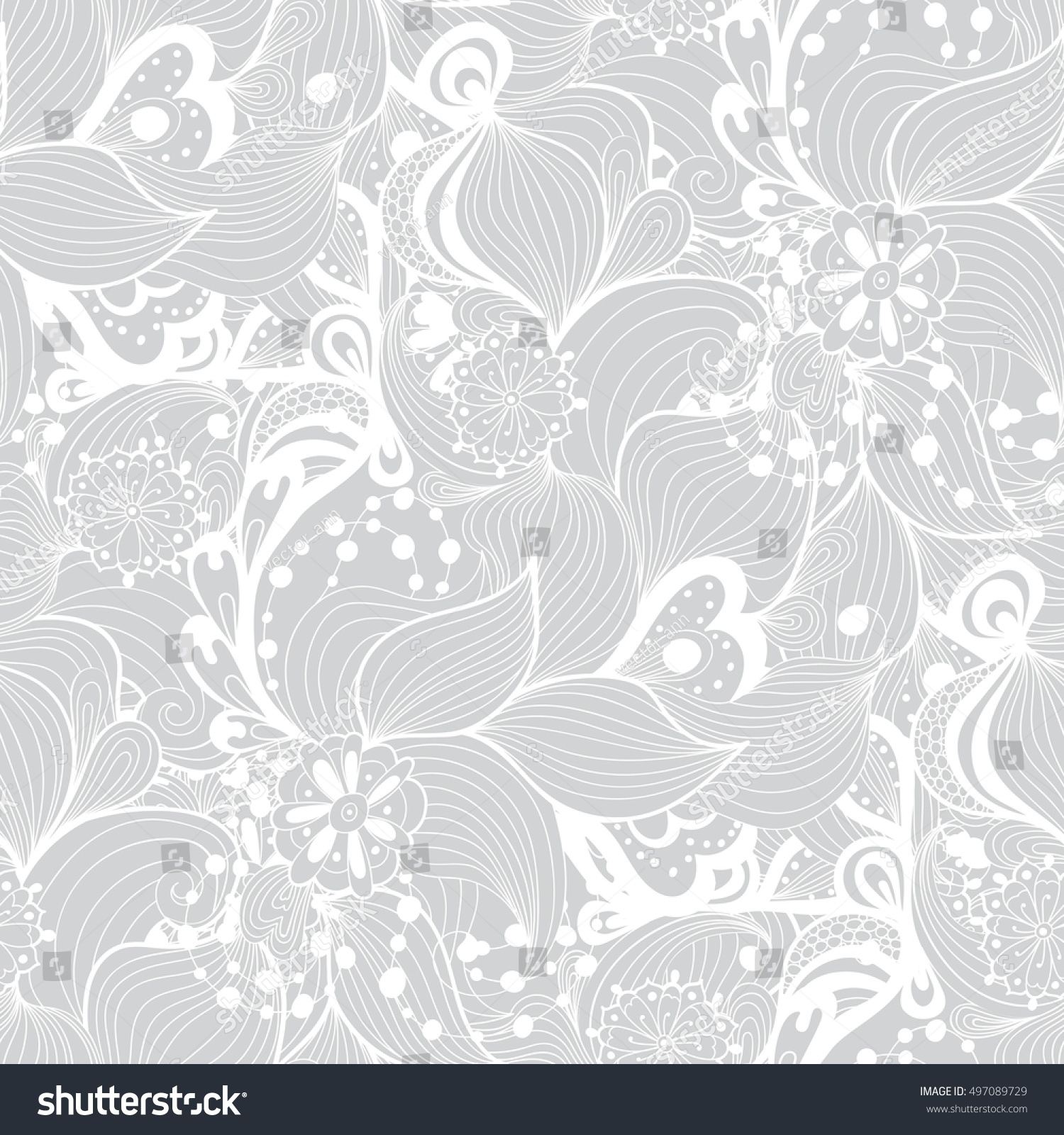fancy white background