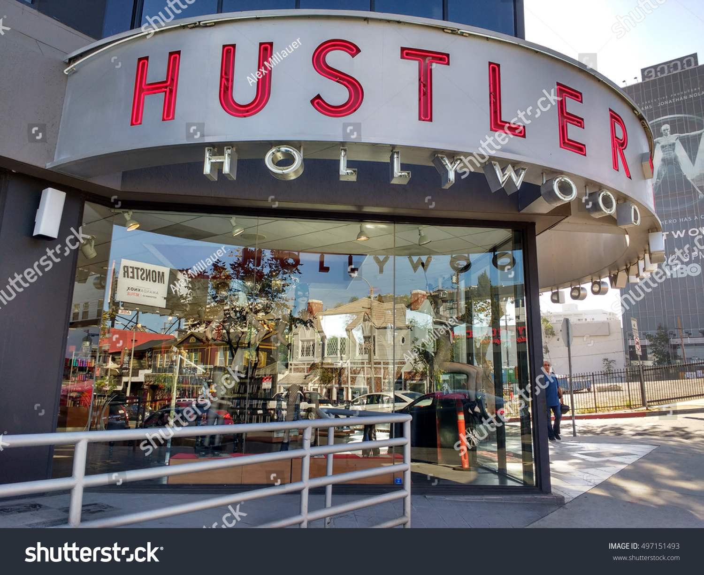 Hustler store hollywood ca