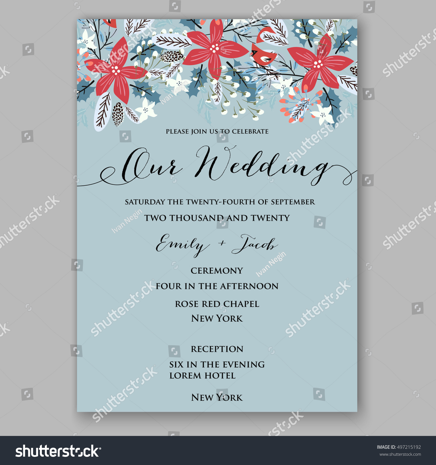 winter wedding invitation i wish you a merry christmas and happy new year vintage christmas background
