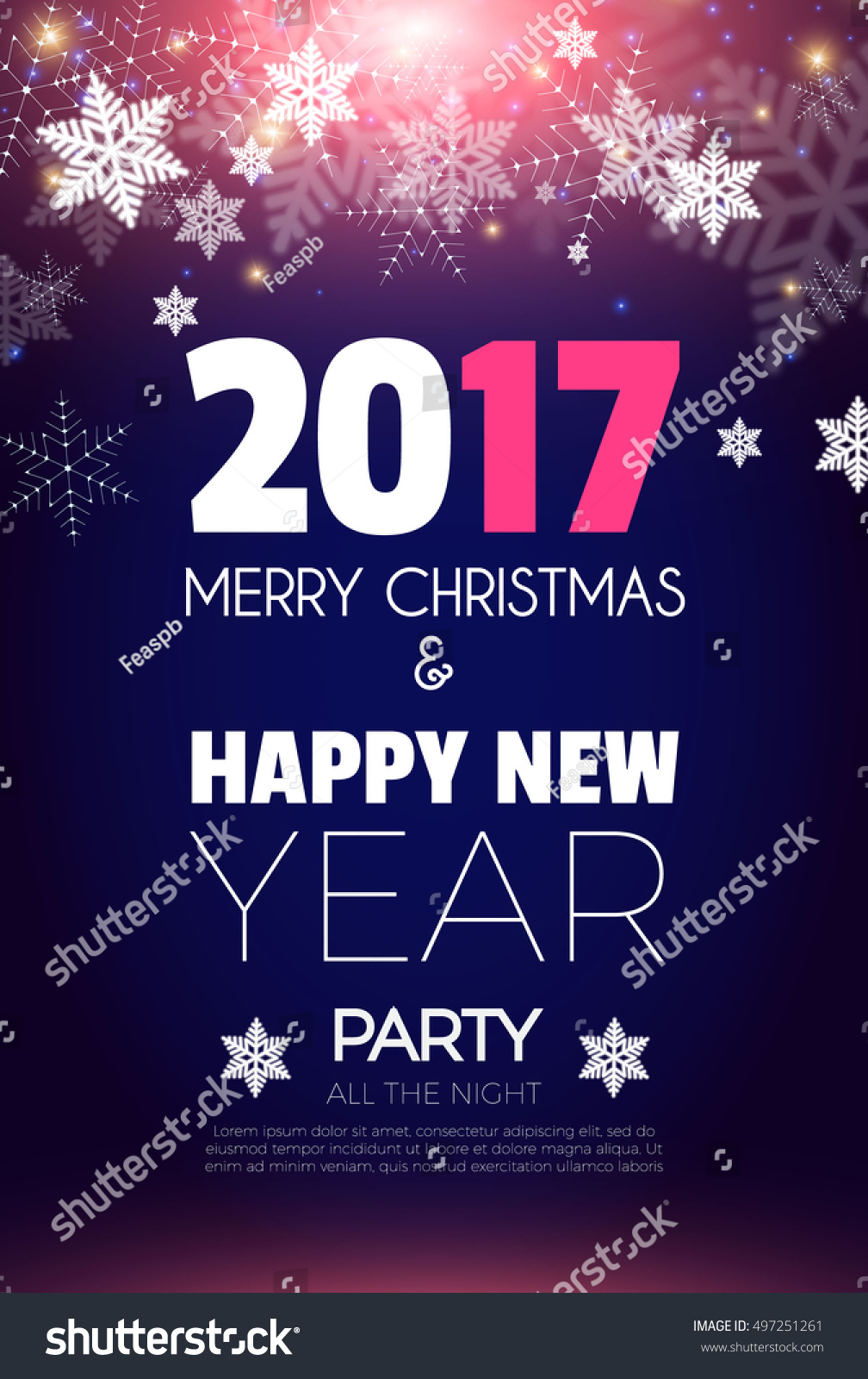 New Years Day Party Invitation christmas wishes quotes for friends