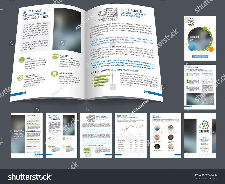 creative brochure cover design presentation professional template