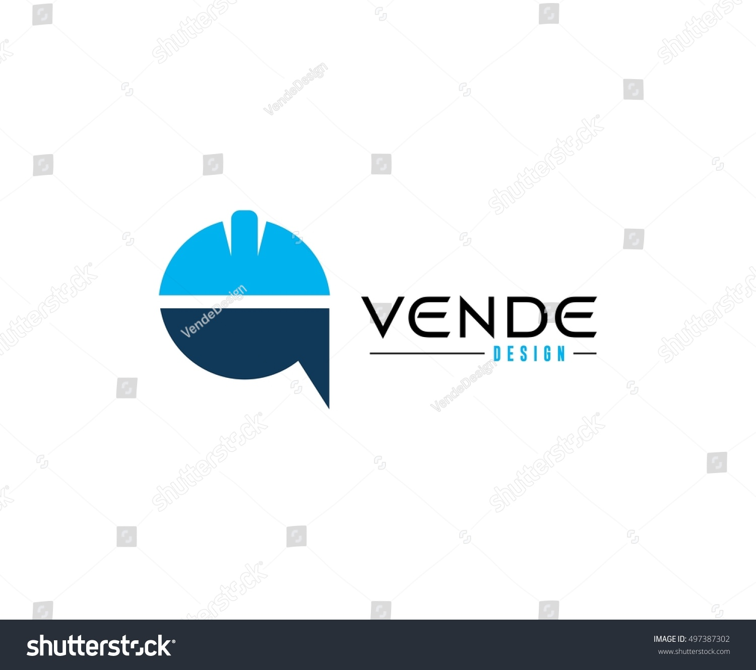 Construction helmet logo