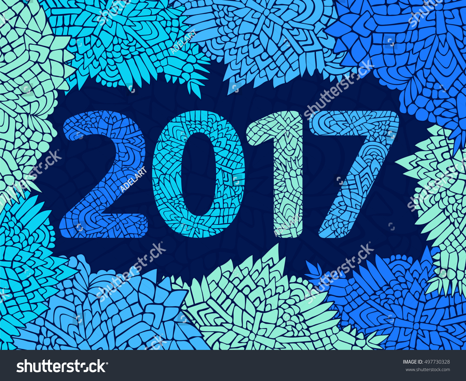 2017 New Year Wallpaper Happy Poster
