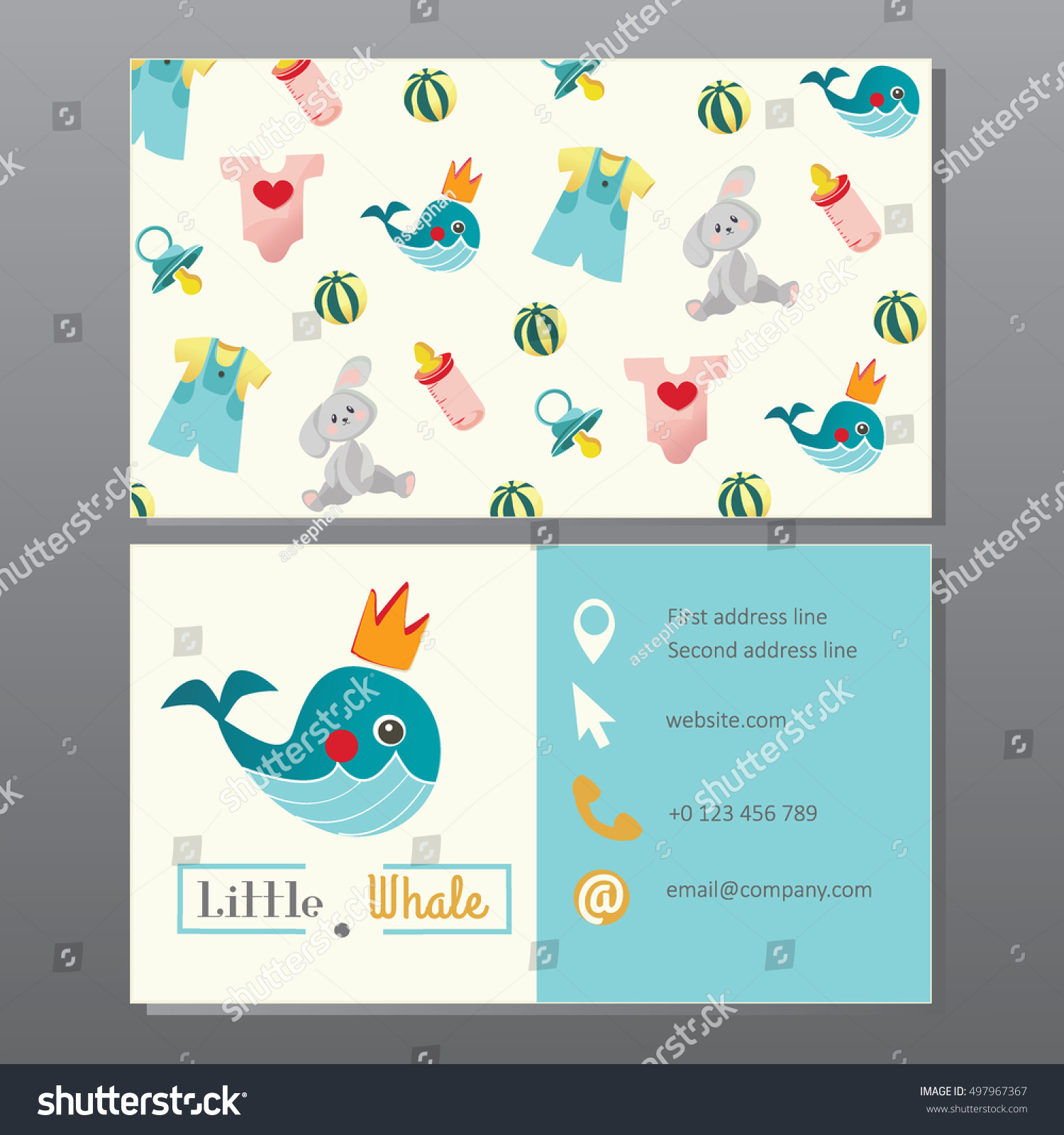 Baby Store Business Cards Gallery - Card Design And Card Template